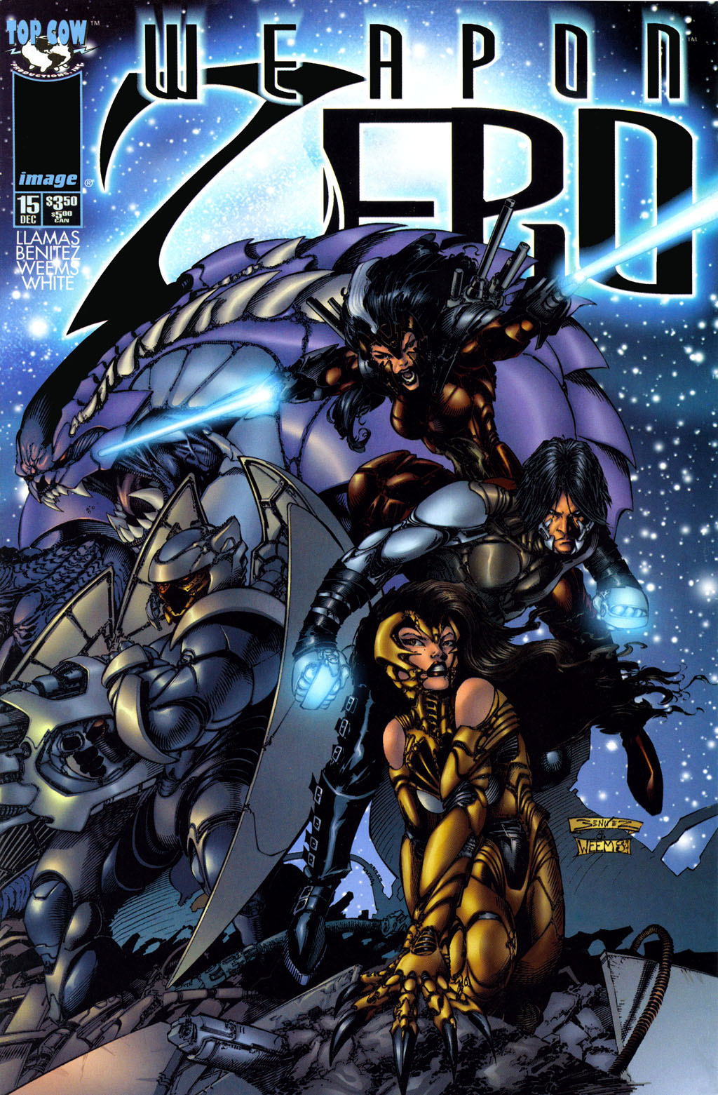 Weapon Zero (1996) issue 15 - Page 1