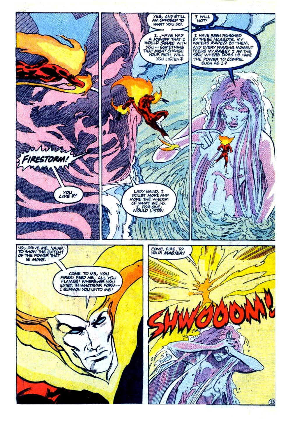 Firestorm, the Nuclear Man Issue #93 #29 - English 14