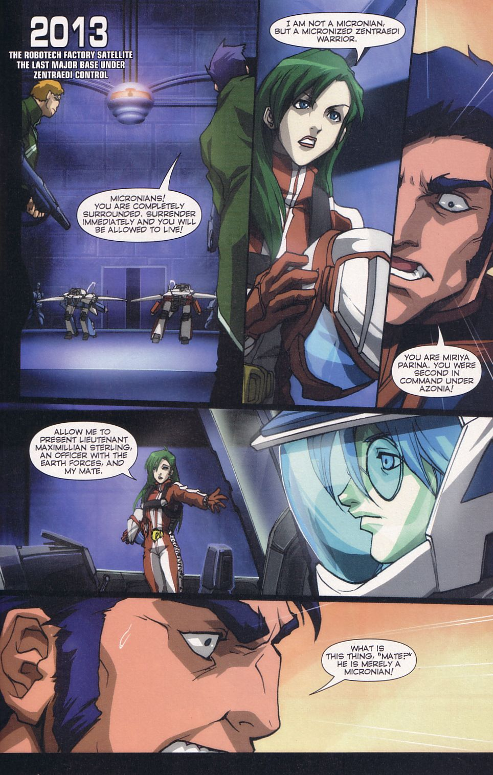 Read online Robotech: Love and War comic -  Issue #6 - 16