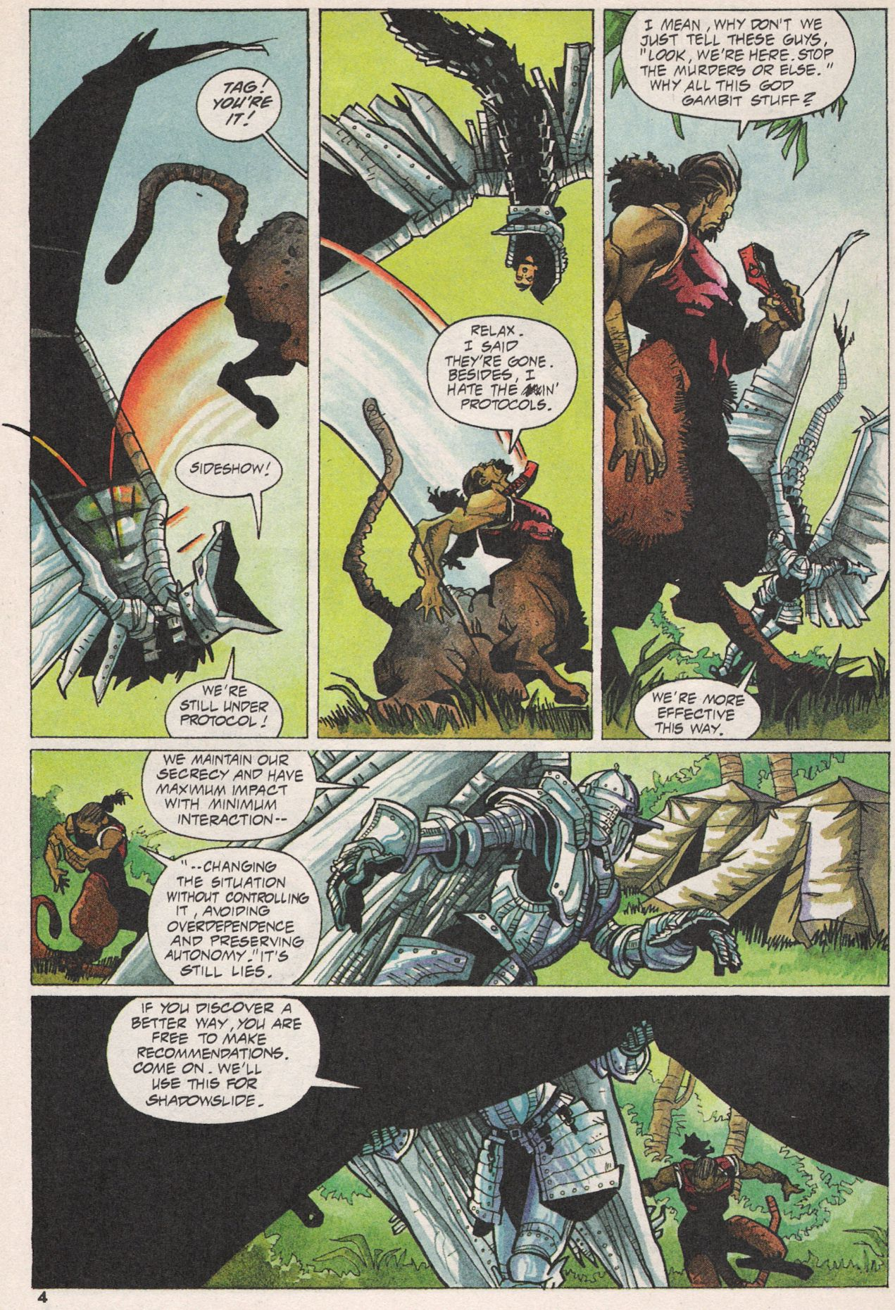 Read online Shadow Cabinet comic -  Issue #3 - 5