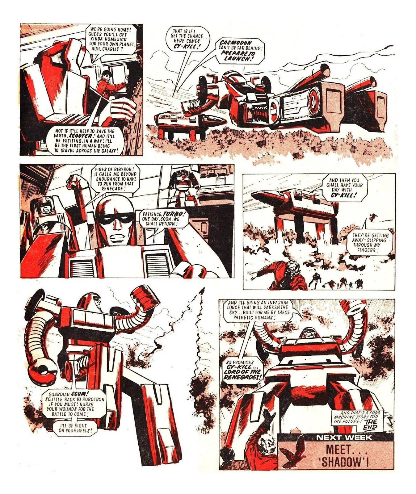 Read online Robo Machines comic -  Issue # TPB - 117