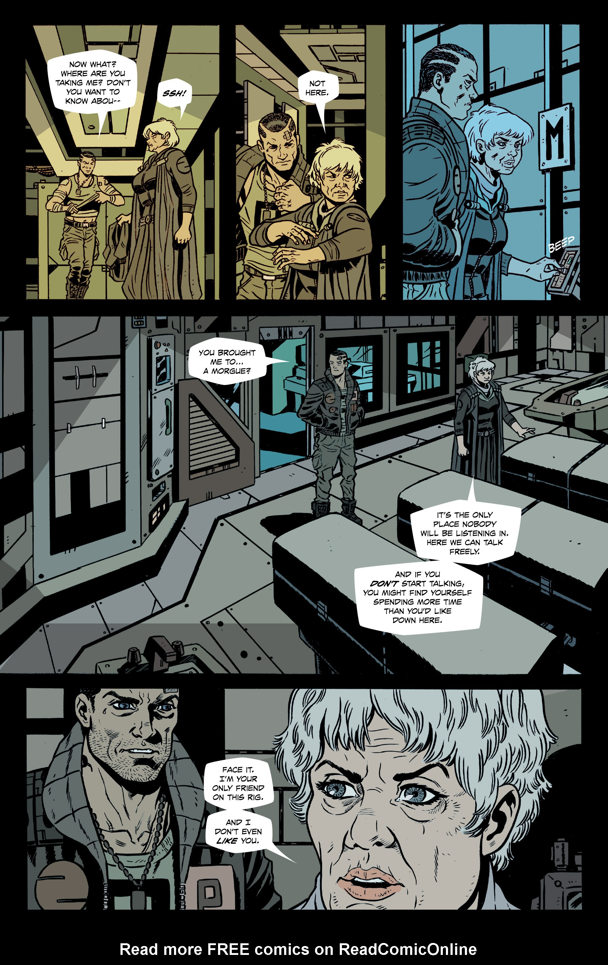 Read online Southern Cross comic -  Issue #8 - 5