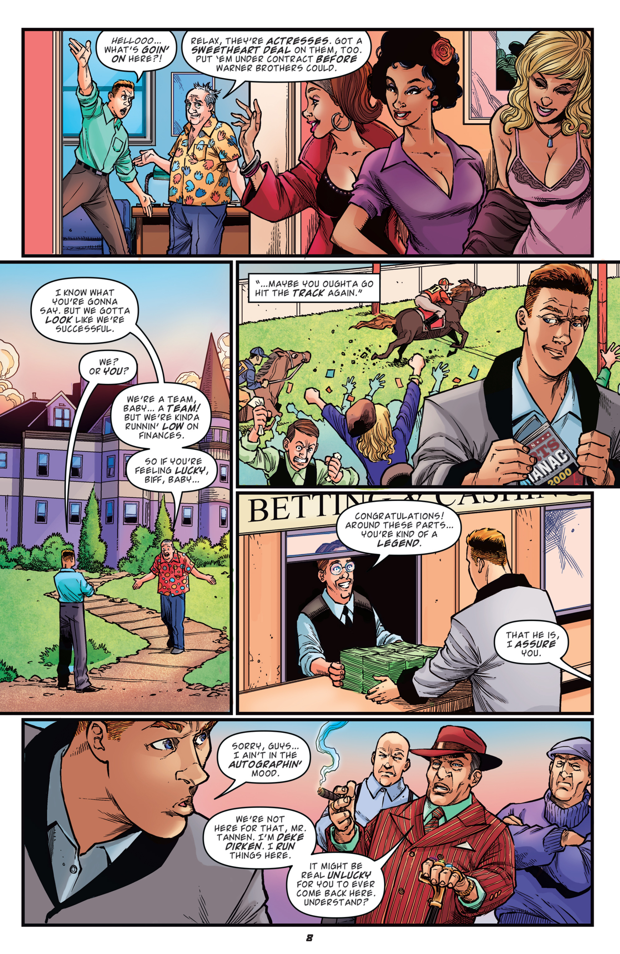 Read online Back to the Future: Biff to the Future comic -  Issue #2 - 10