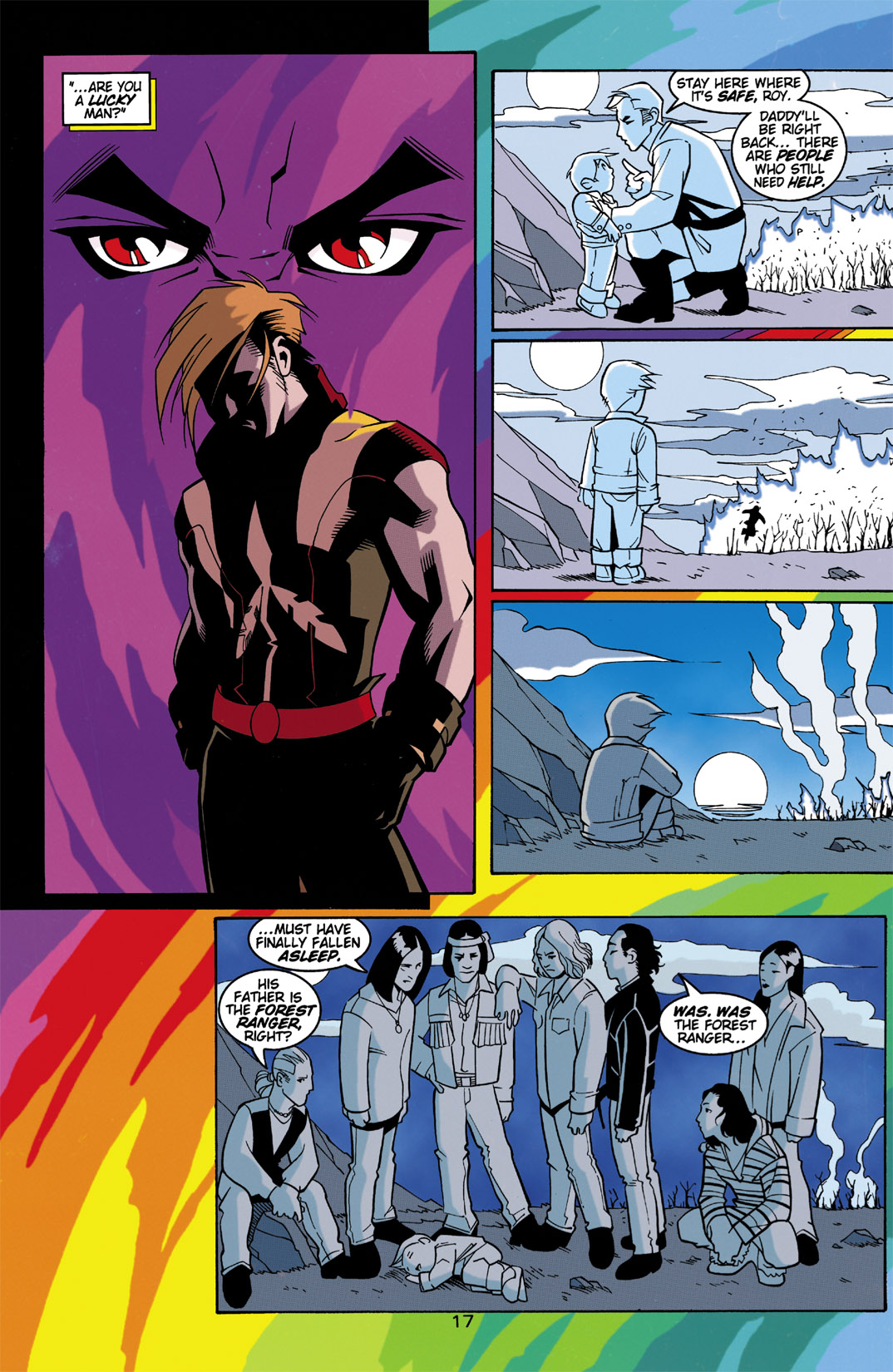 Read online Arsenal comic -  Issue #3 - 18