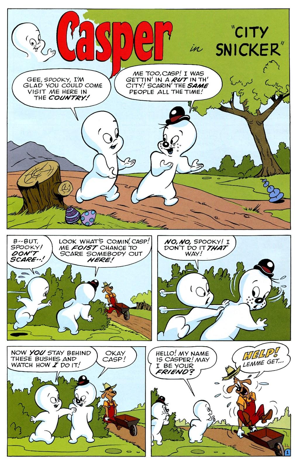 Read online Casper's Scare School comic -  Issue #2 - 19