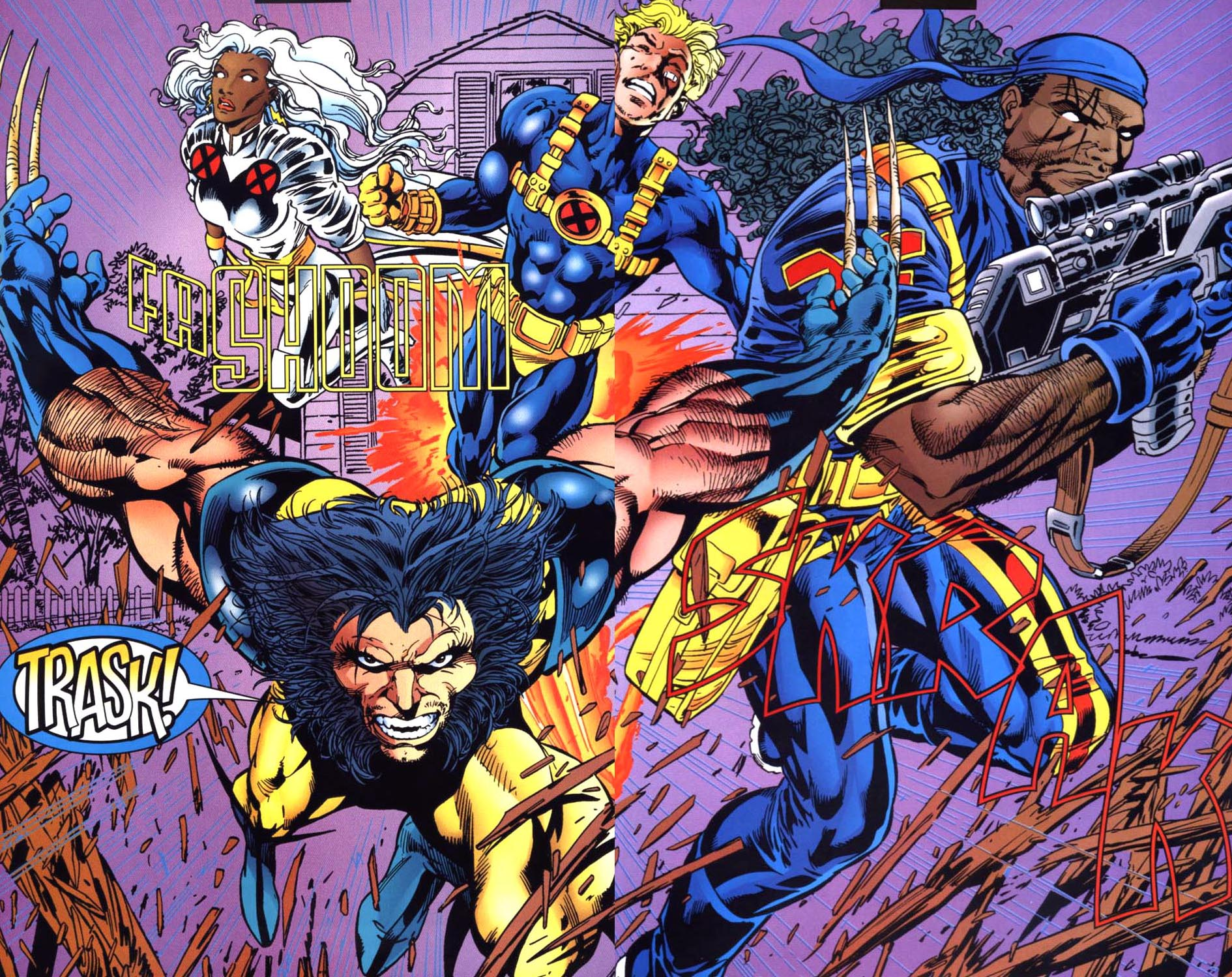 Read online Uncanny X-Men (1963) comic -  Issue # _Annual 1995 - 29