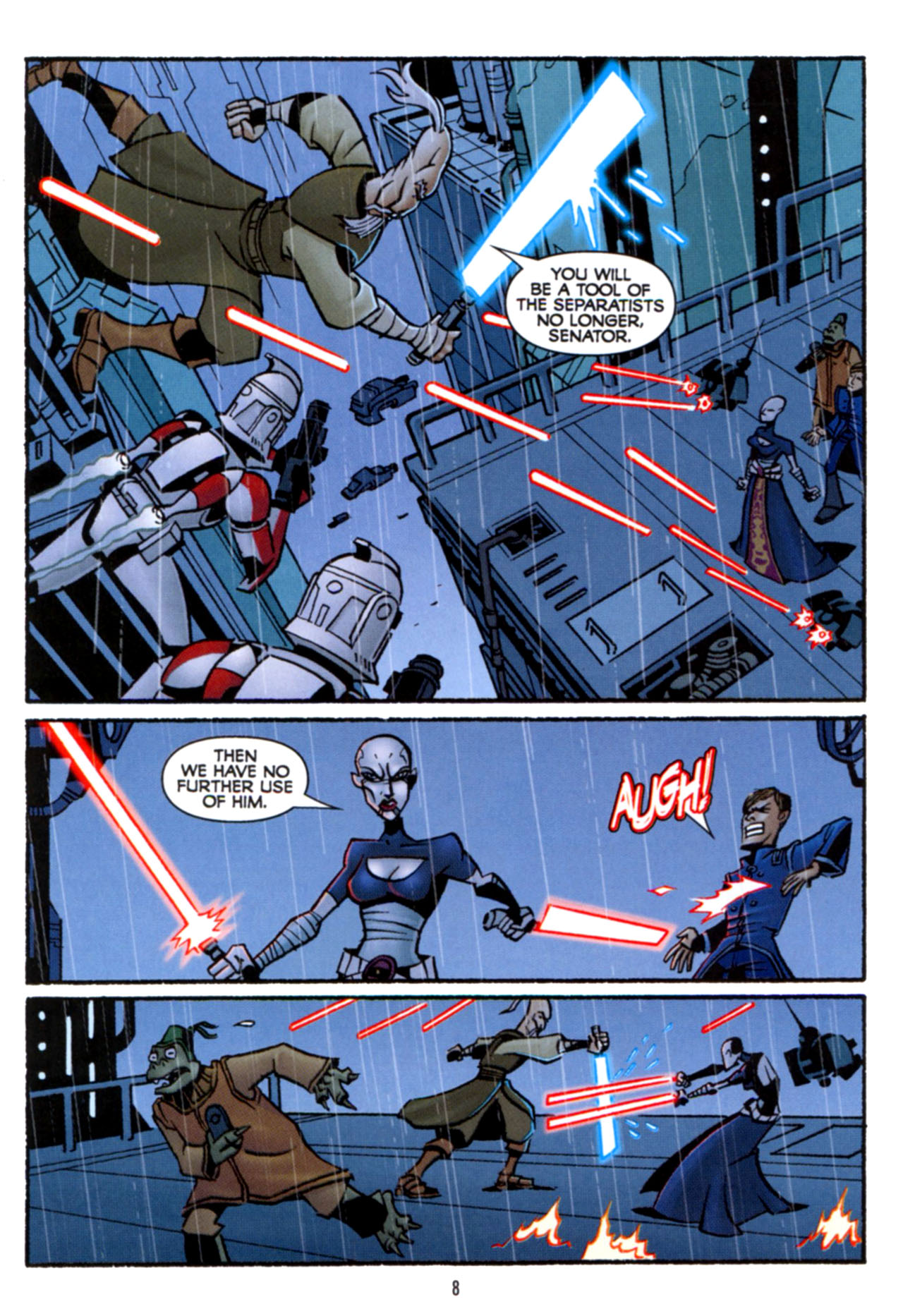 Read online Star Wars: The Clone Wars - Crash Course comic -  Issue # Full - 9
