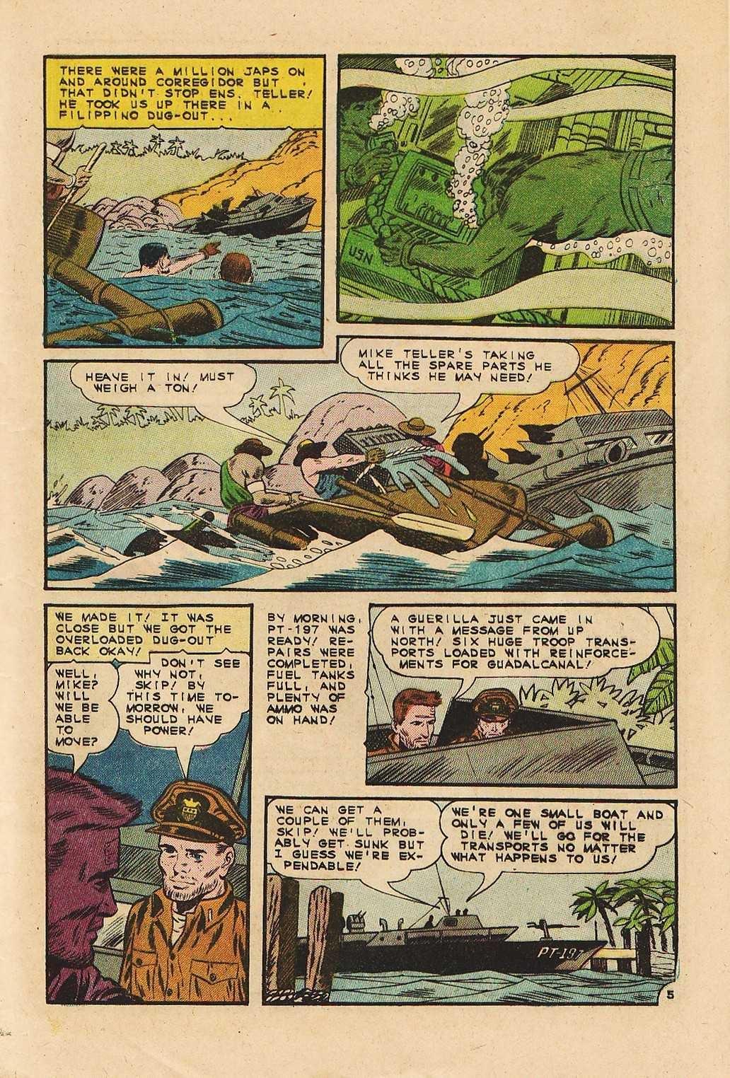 Read online Fightin' Navy comic -  Issue #121 - 9
