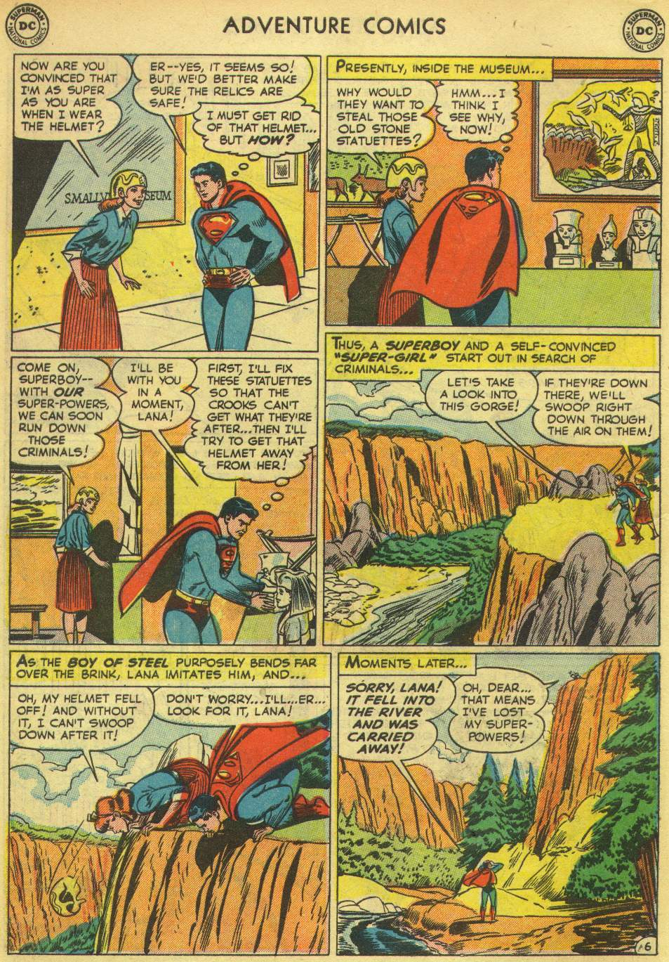Read online Adventure Comics (1938) comic -  Issue #167 - 8