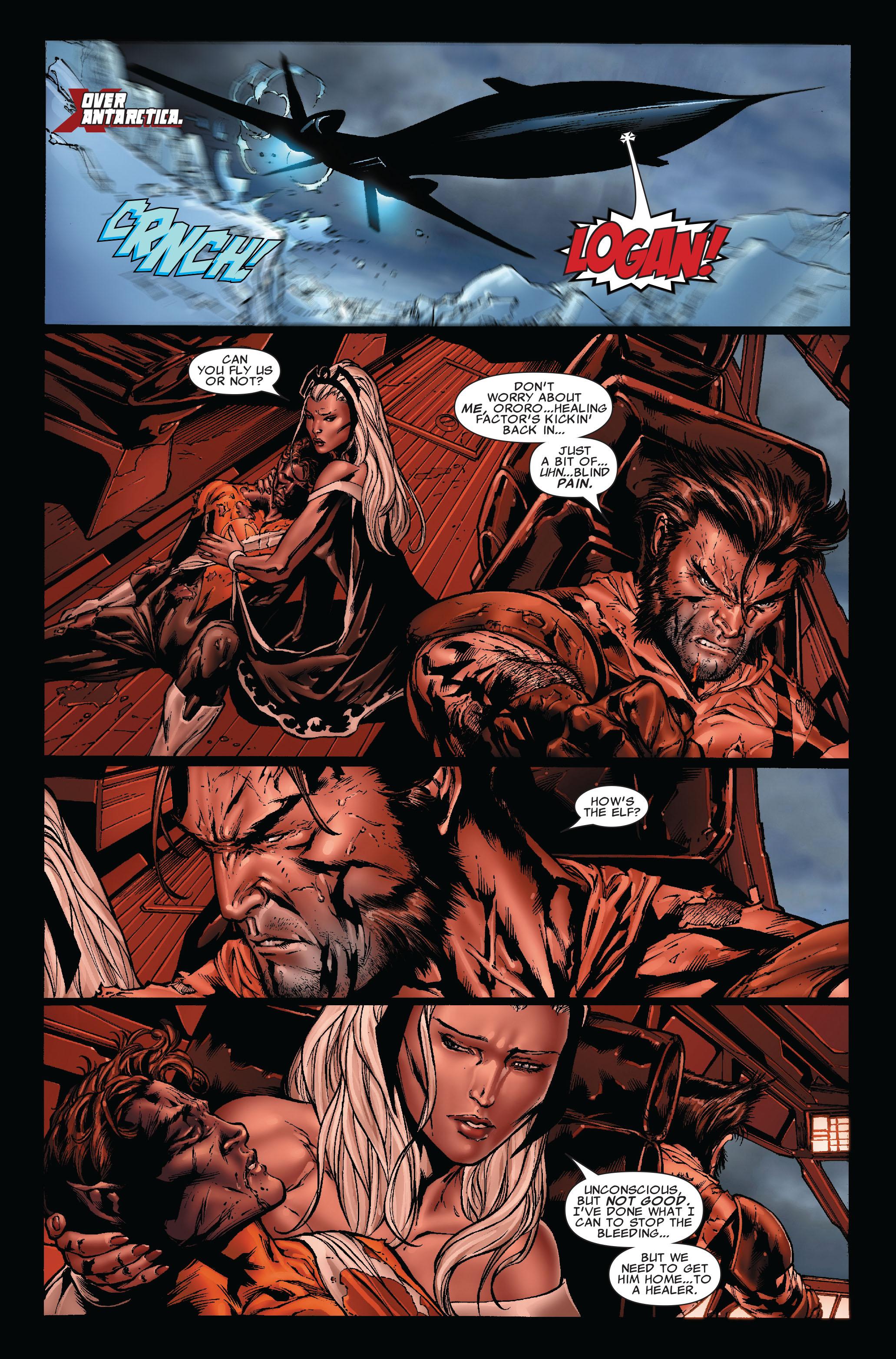 Read online Uncanny X-Men (1963) comic -  Issue #493 - 3