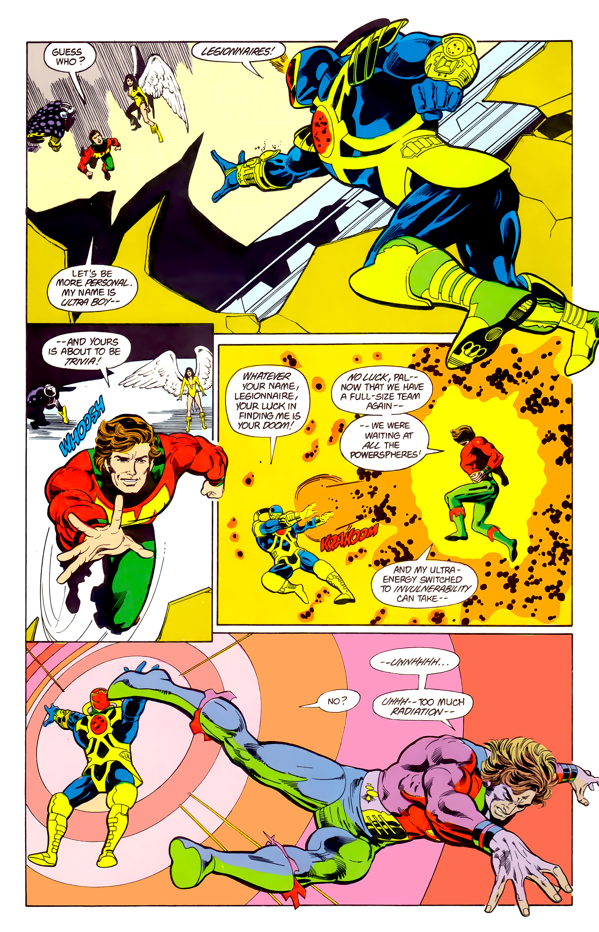 Legion of Super-Heroes (1984) 22 Page 23