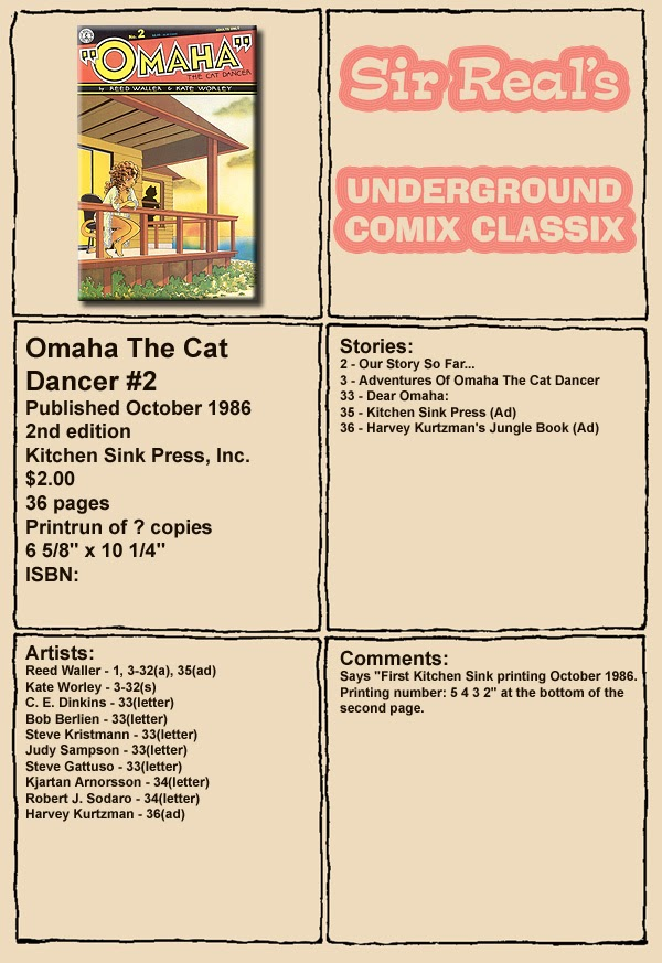 Omaha the Cat Dancer (1986) 2 Page 1