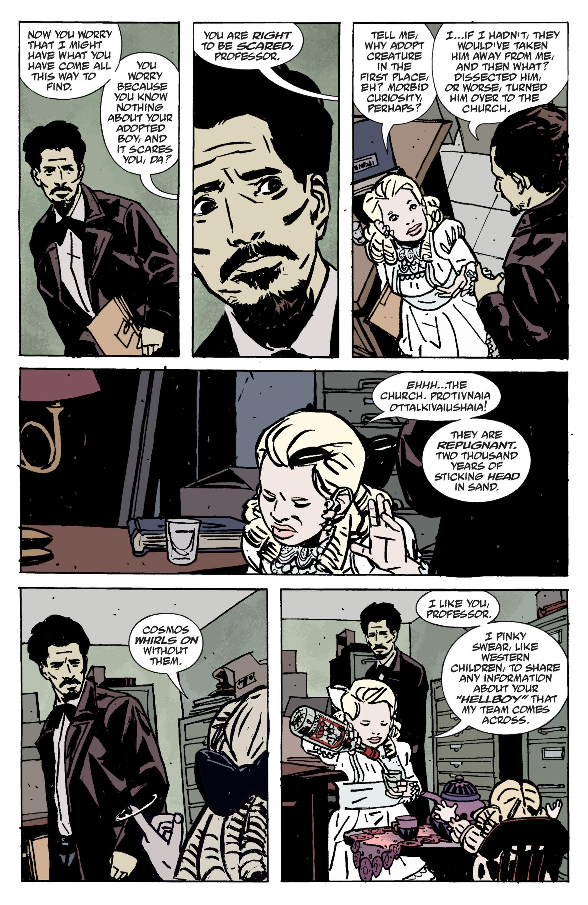Read online B.P.R.D. (2003) comic -  Issue # TPB 9 - 25