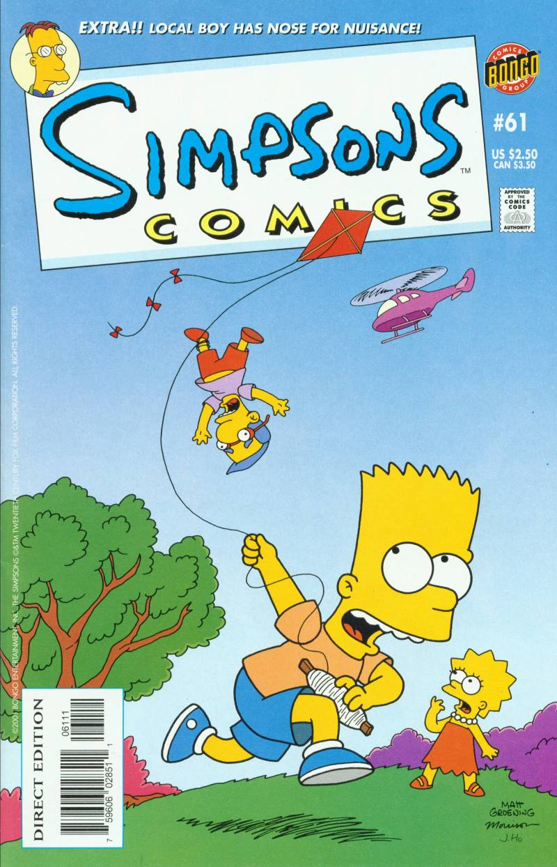 Read online Simpsons Comics comic -  Issue #61 - 1