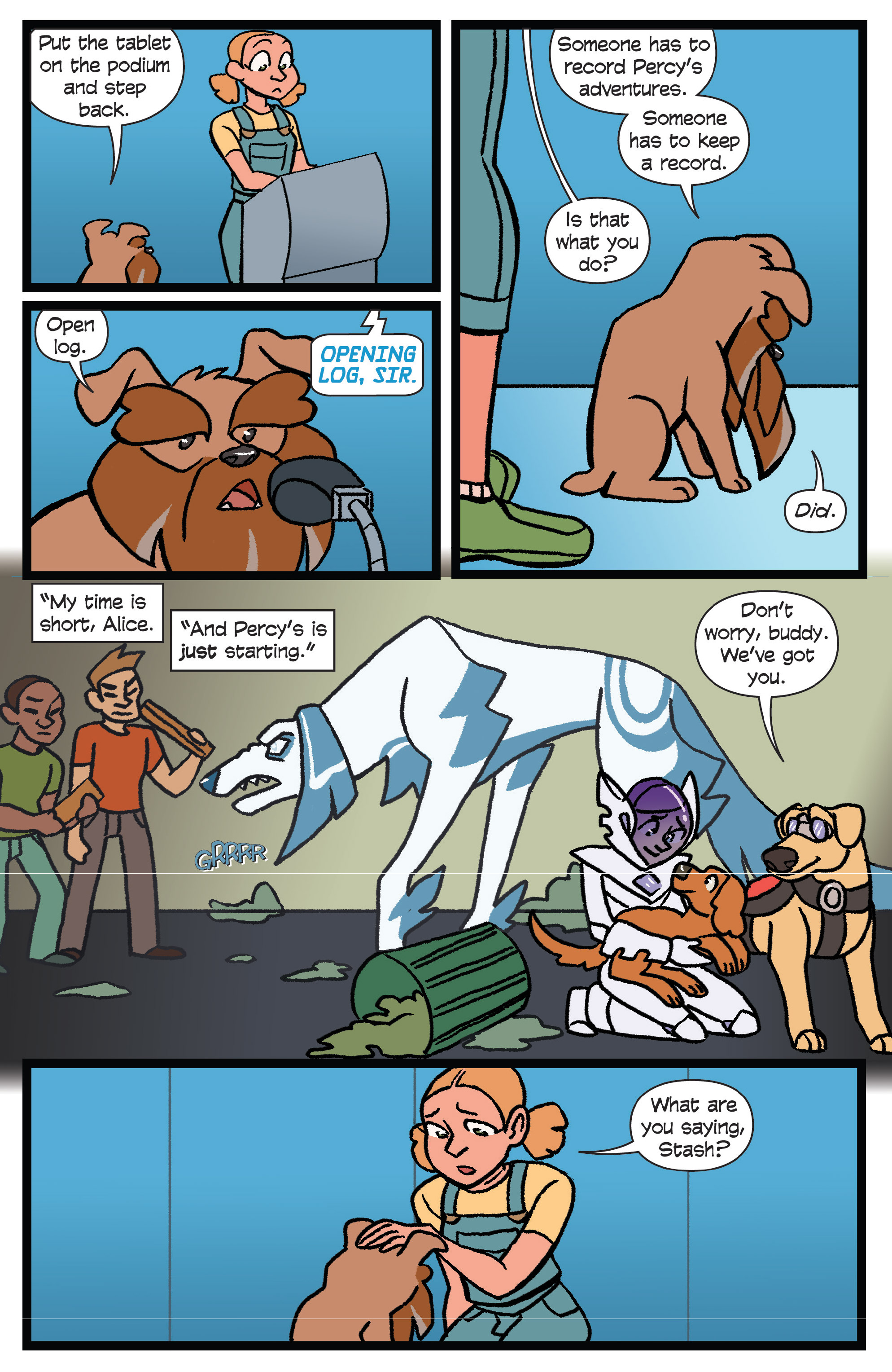 Read online Action Lab, Dog of Wonder comic -  Issue #6 - 18