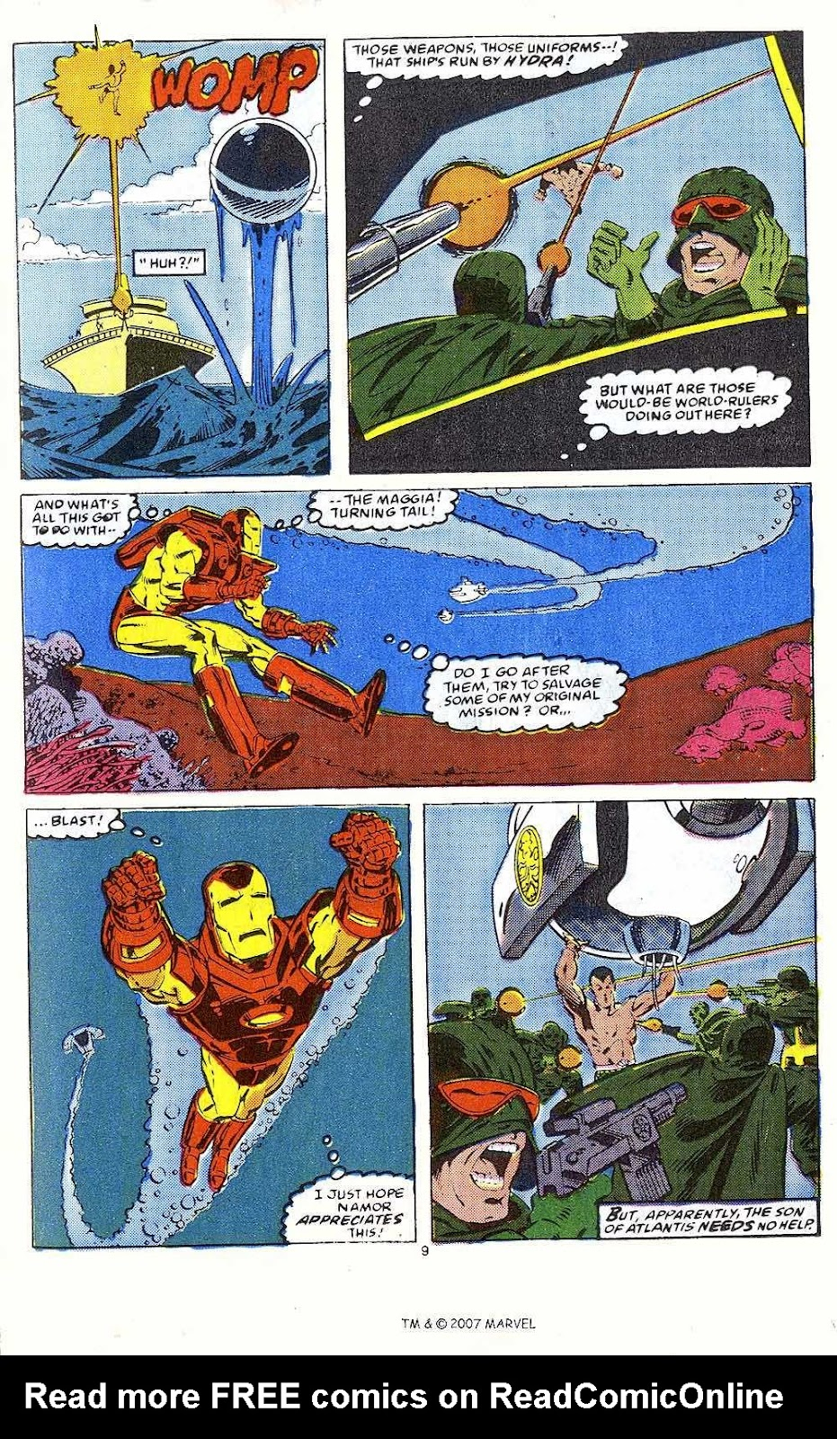 Iron Man Annual issue 10 - Page 11