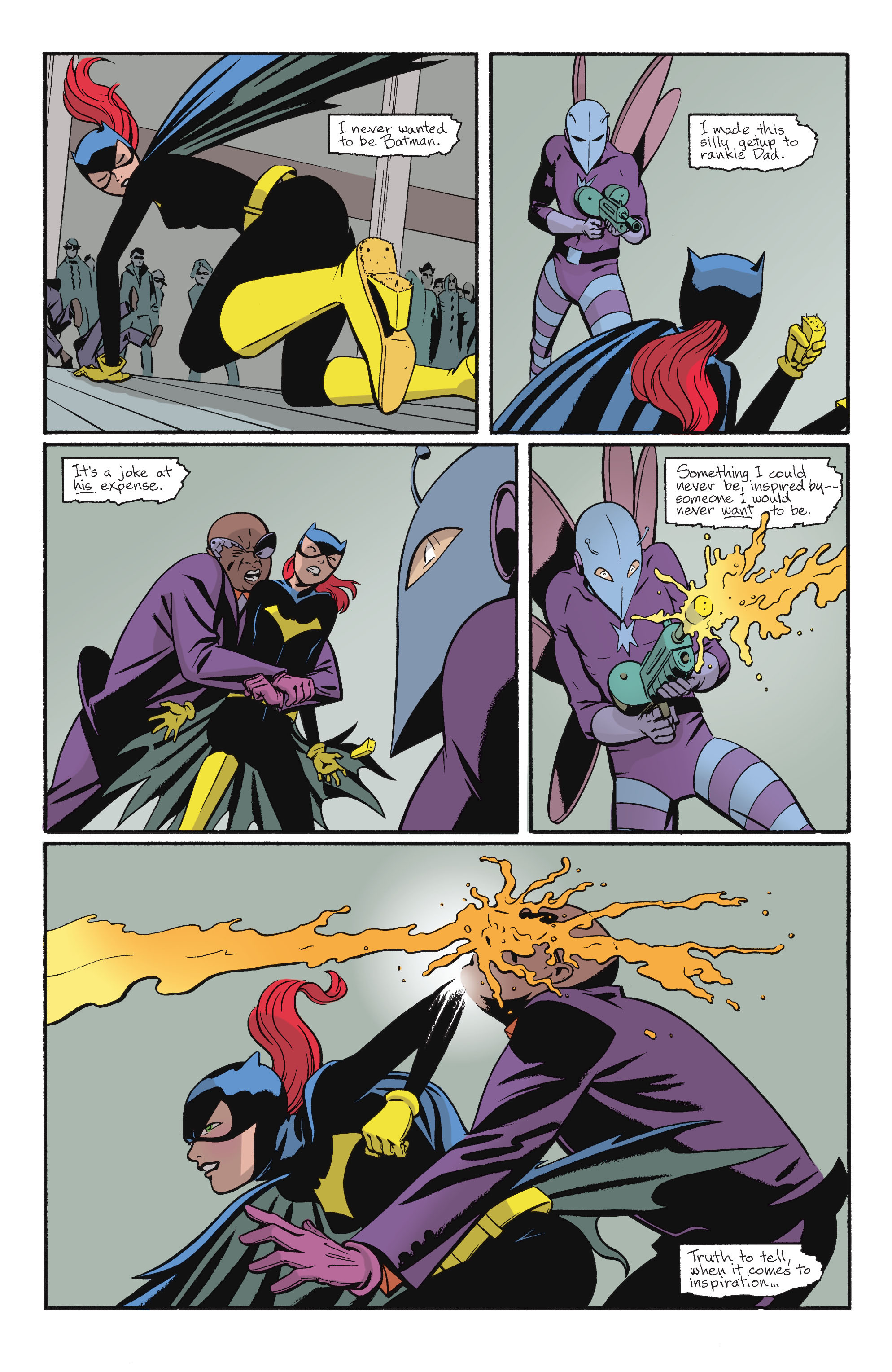 Read online Batgirl/Robin: Year One comic -  Issue # TPB 2 - 6