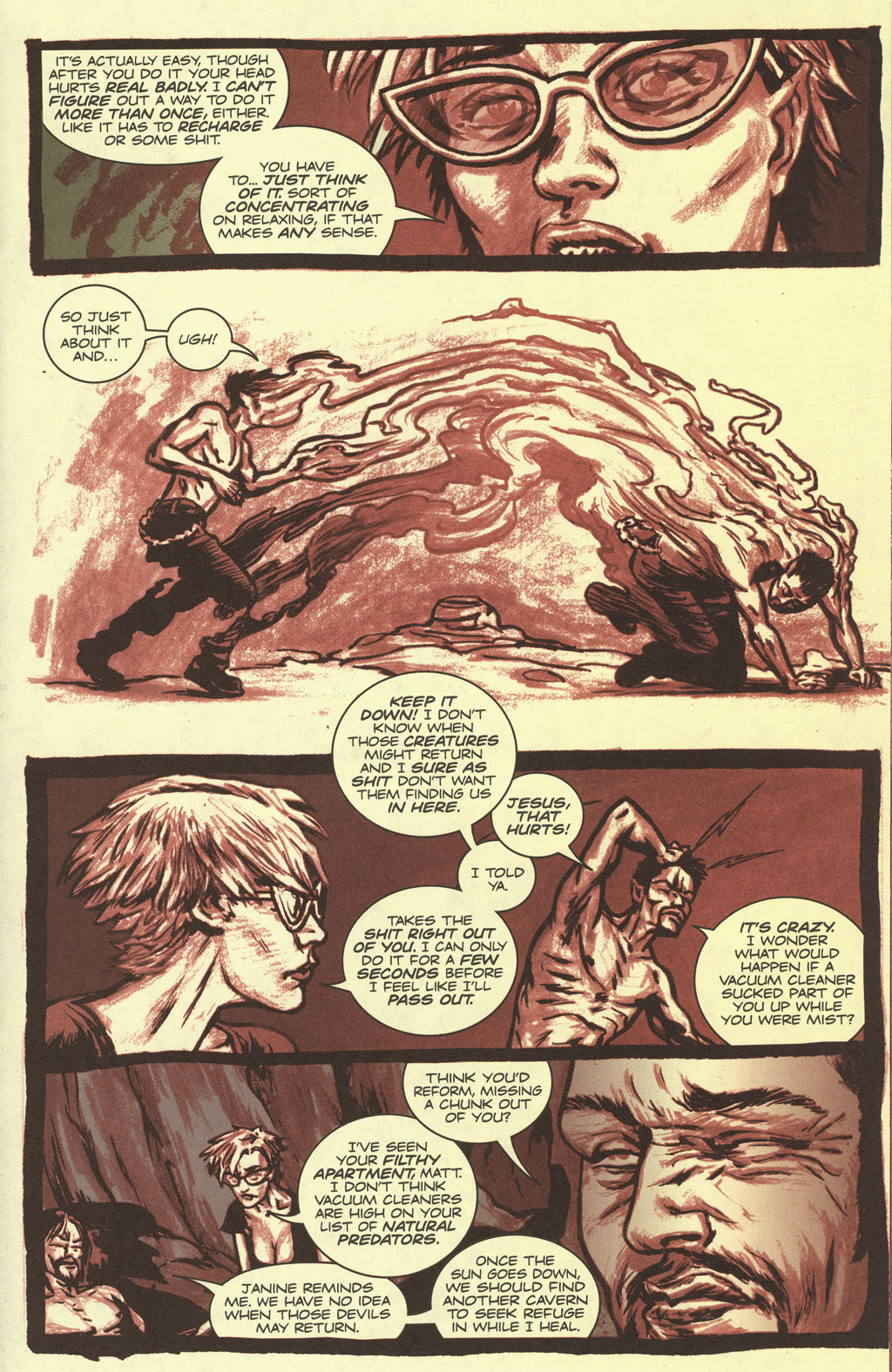 Read online Sea of Red comic -  Issue #4 - 15