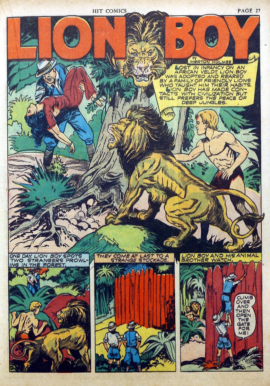 Read online Hit Comics comic -  Issue #17 - 29