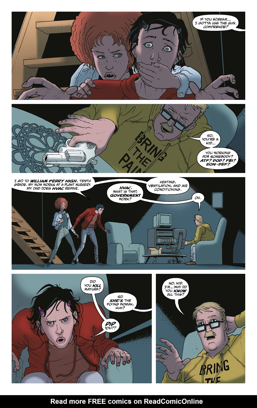 Read online She Could Fly comic -  Issue # _TPB - 79