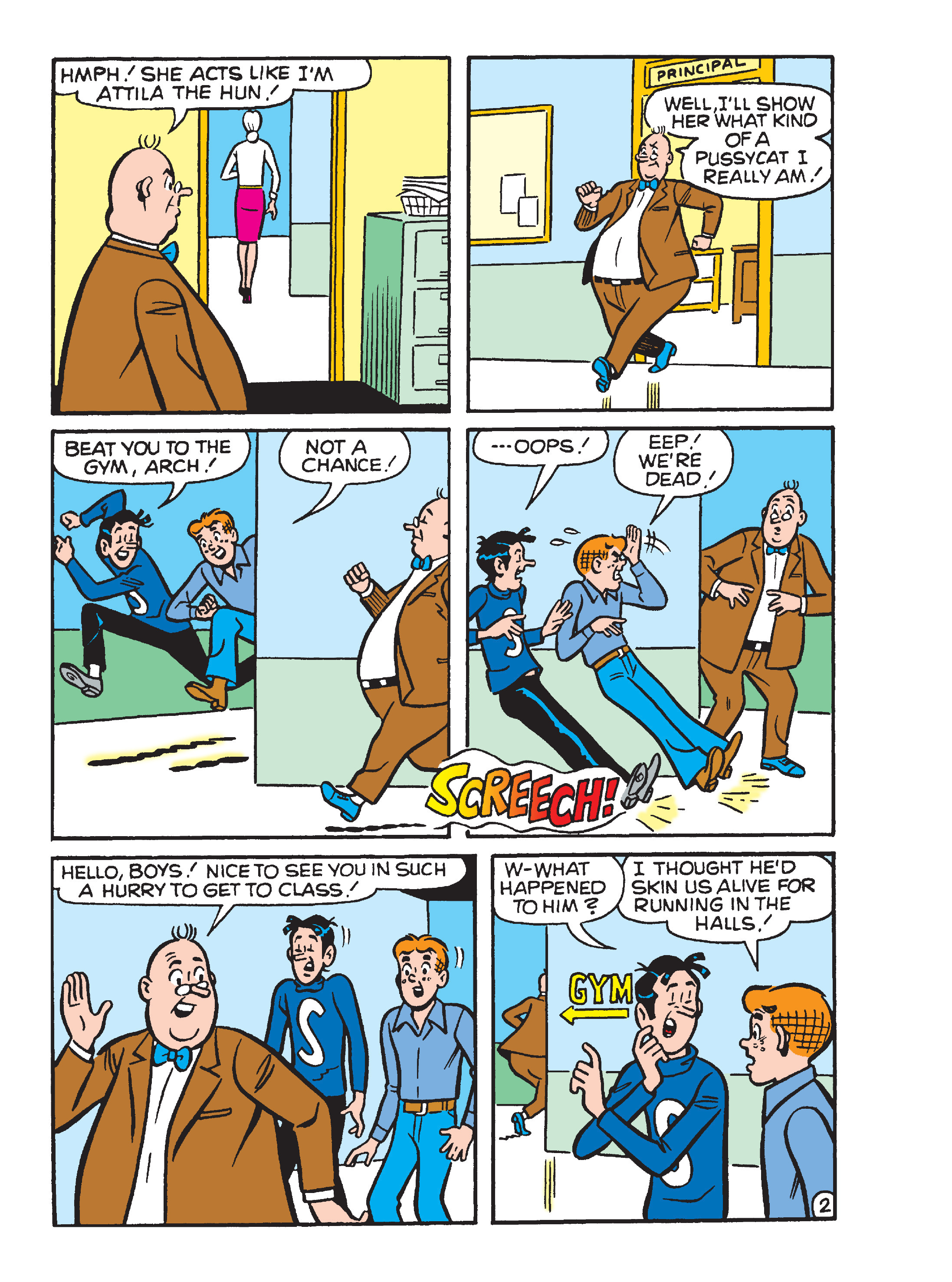 Read online Archie's Funhouse Double Digest comic -  Issue #23 - 132