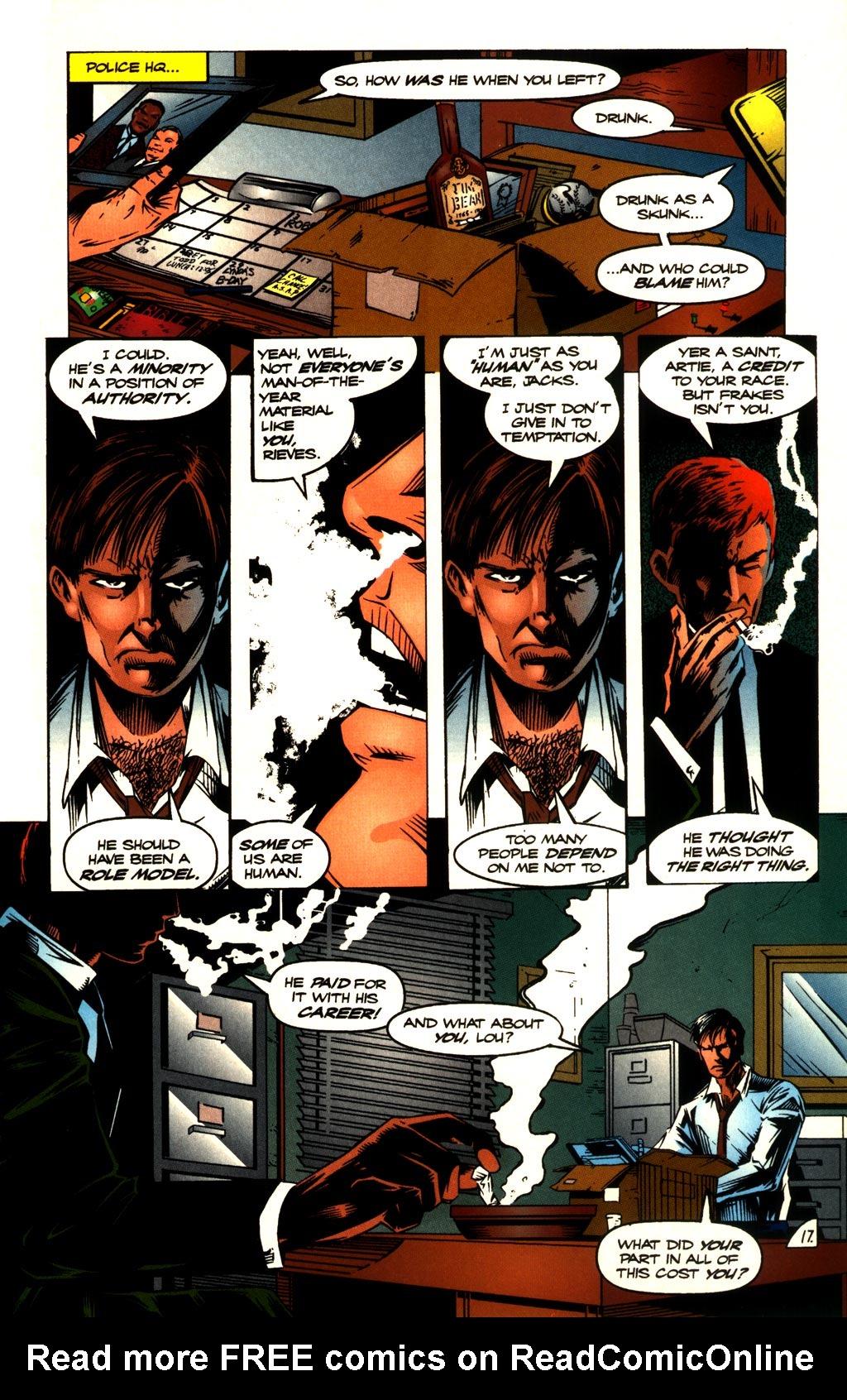 Read online ShadowHawk comic -  Issue #10 - 19