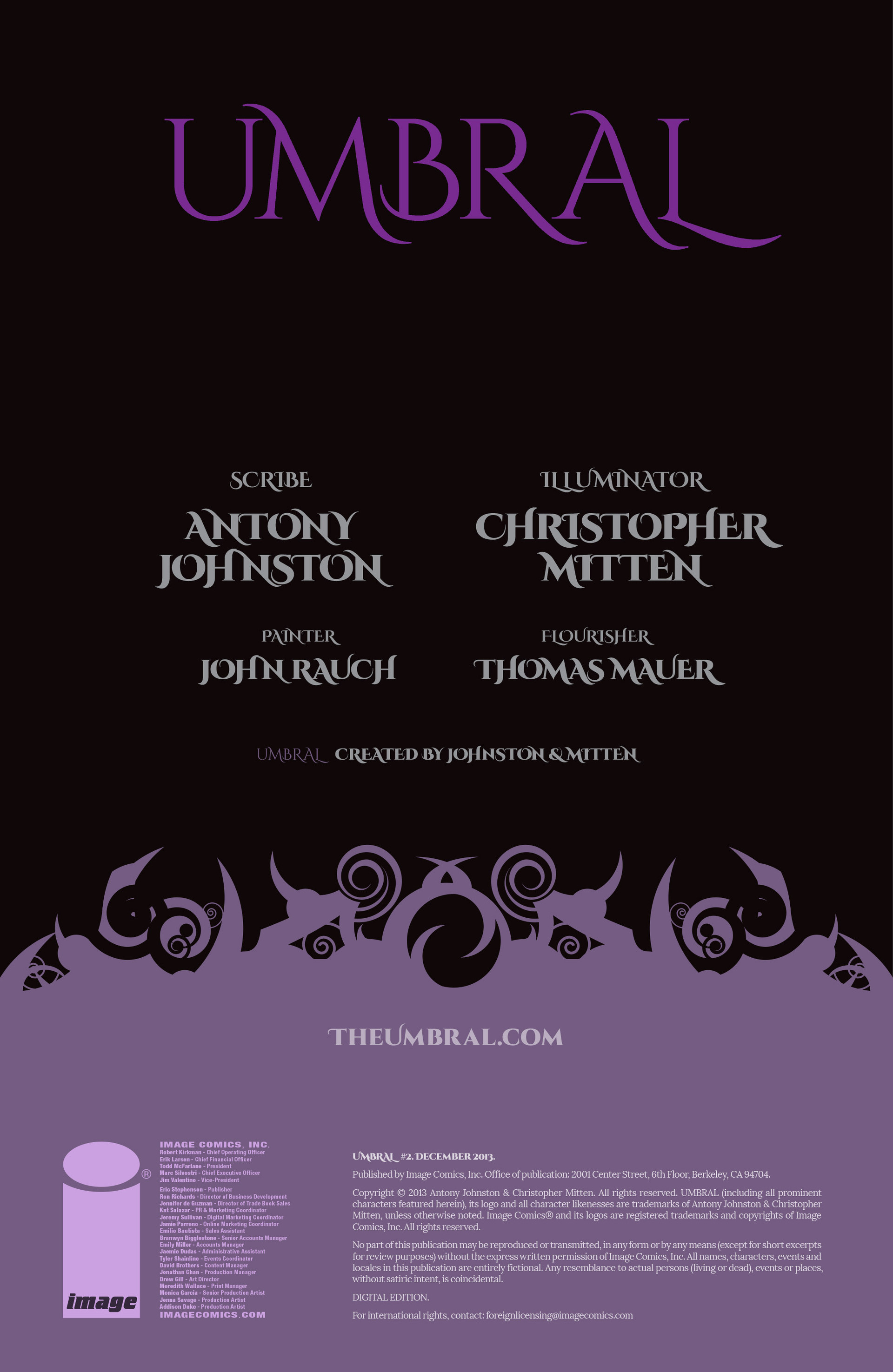 Read online Umbral comic -  Issue #2 - 2