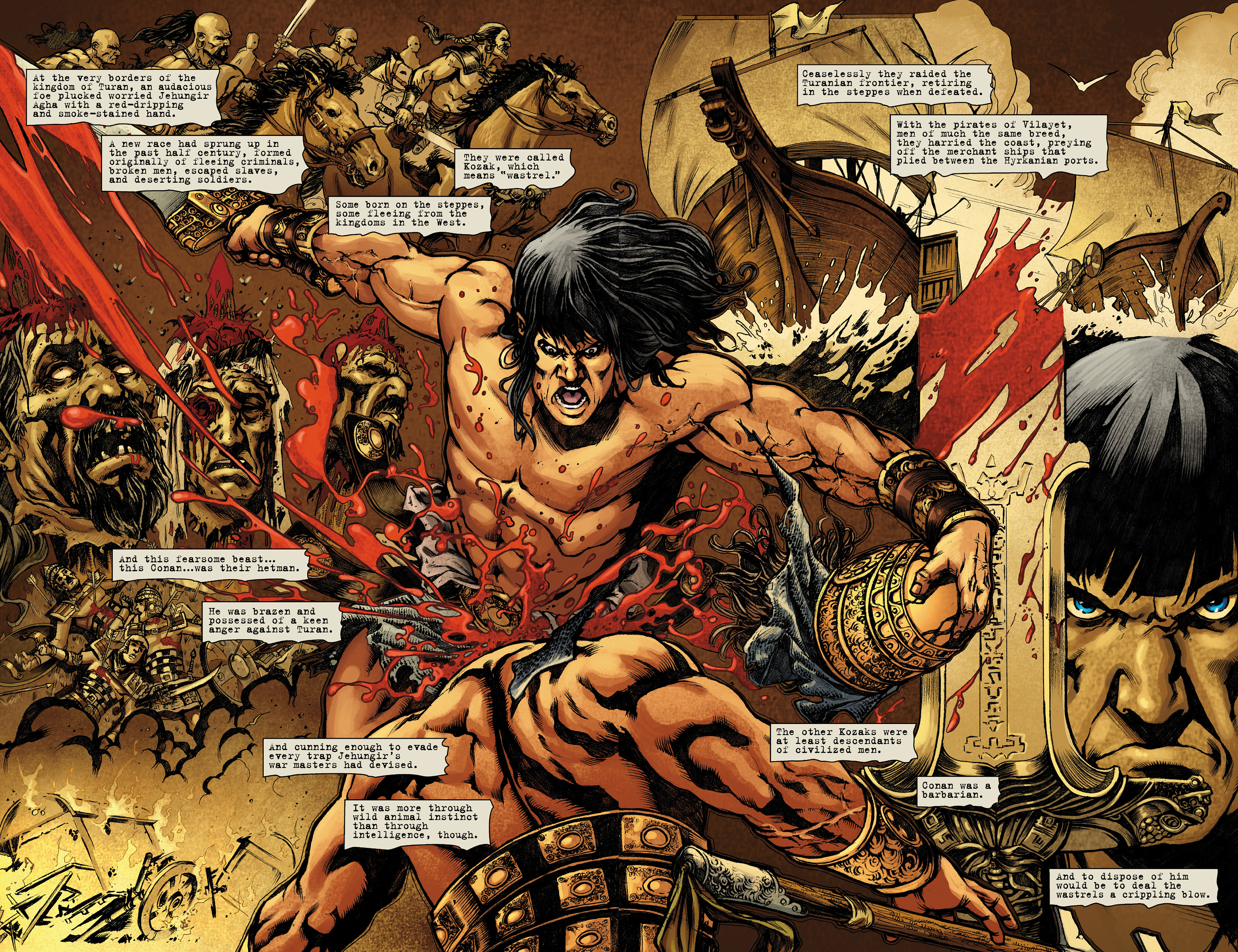 Read online Conan The Slayer comic -  Issue #8 - 8