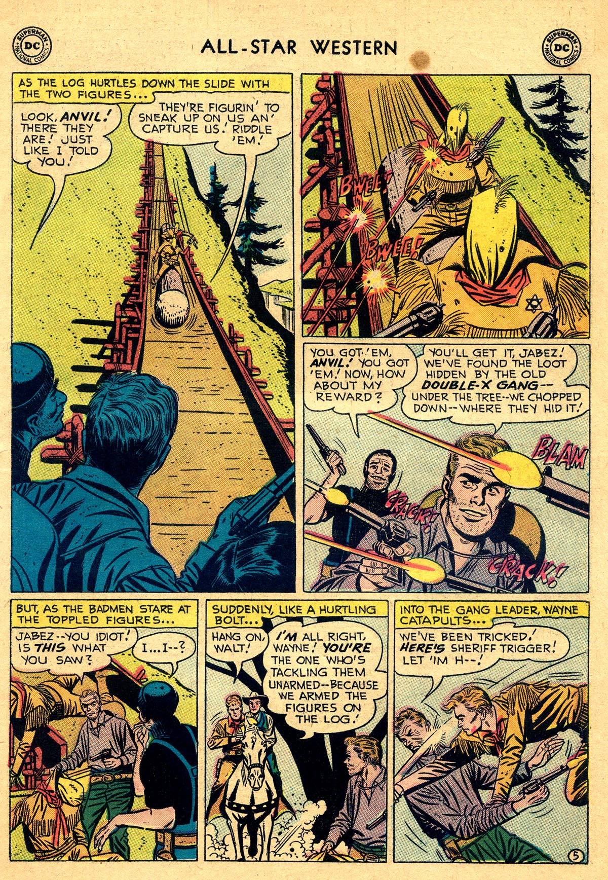 Read online All-Star Western (1951) comic -  Issue #93 - 7