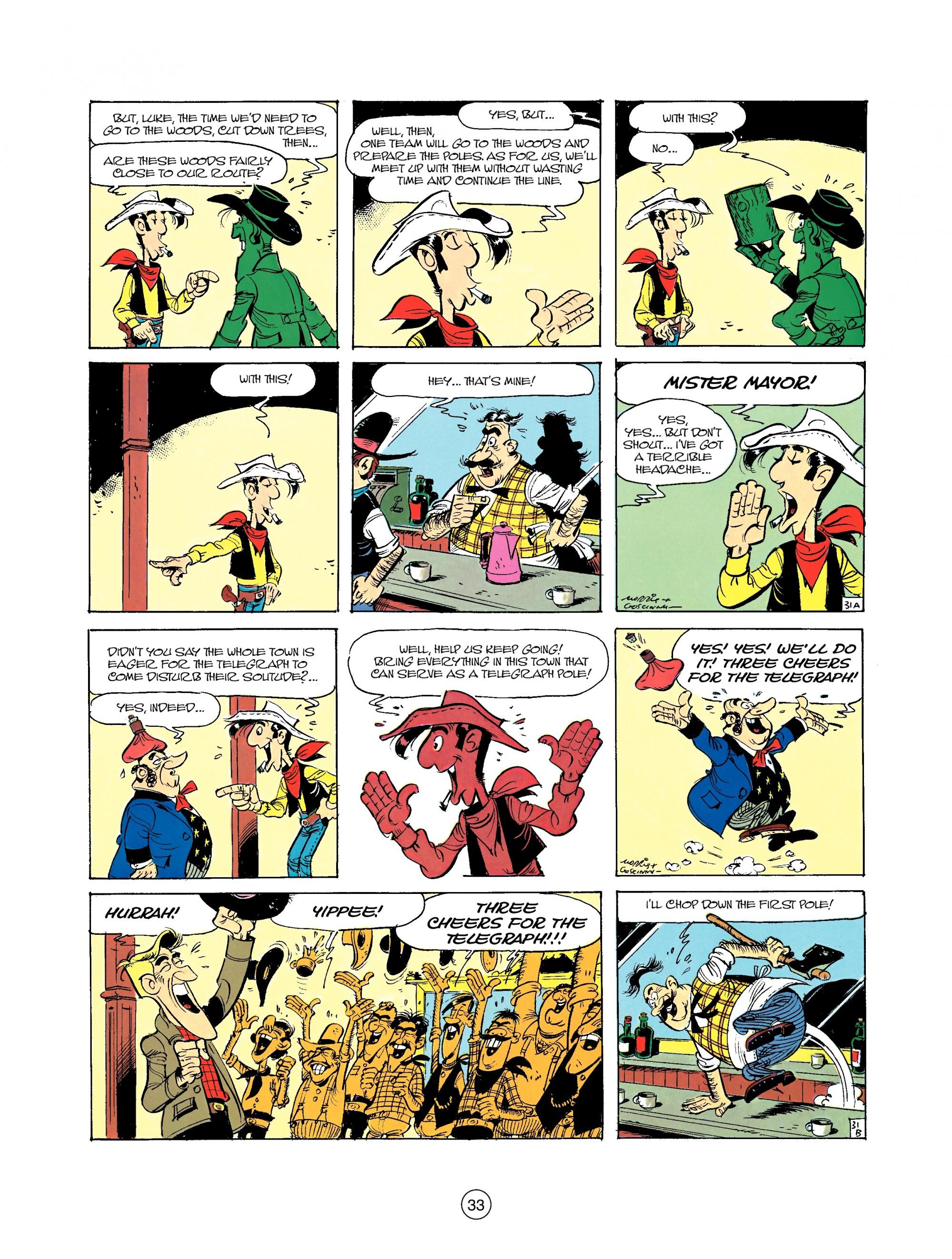 Read online A Lucky Luke Adventure comic -  Issue #35 - 33