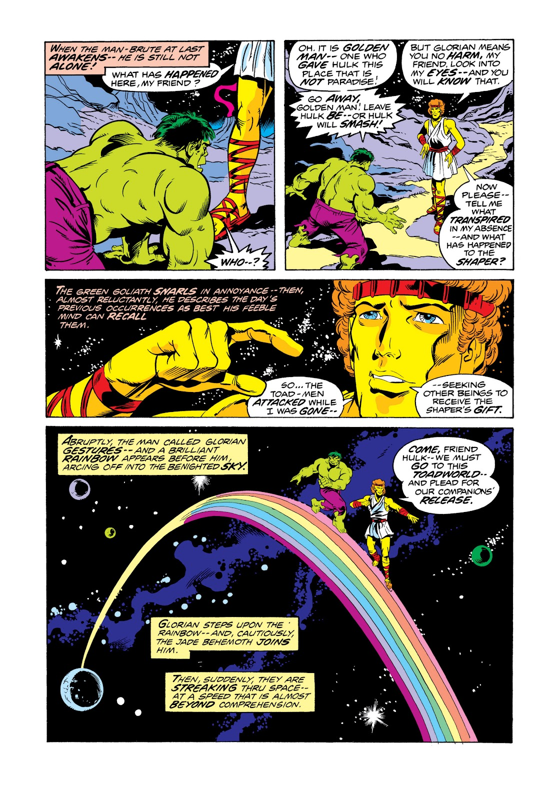 Read online Marvel Masterworks: The Incredible Hulk comic -  Issue # TPB 11 (Part 2) - 50