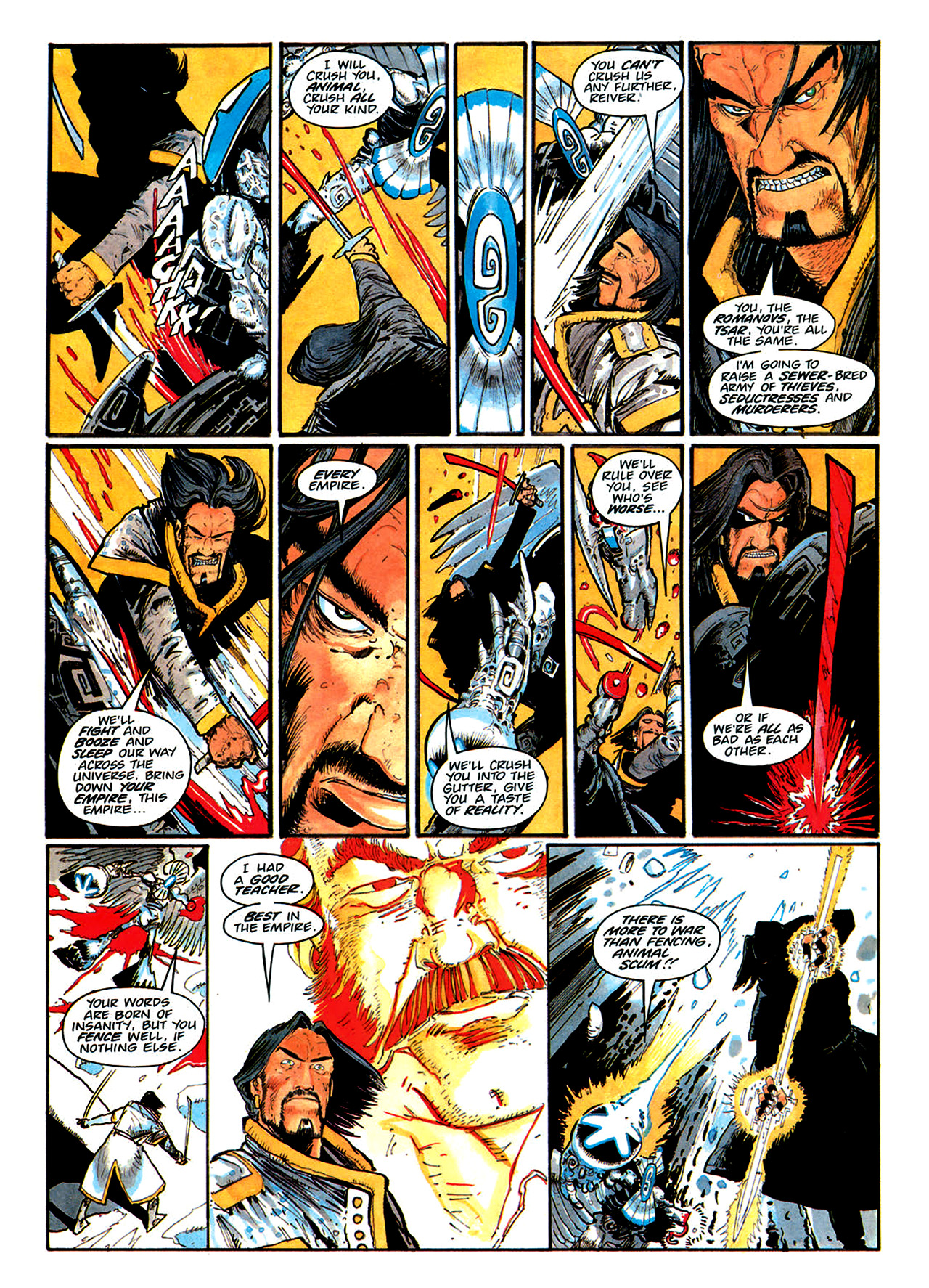 Read online Nikolai Dante comic -  Issue # TPB 1 - 174