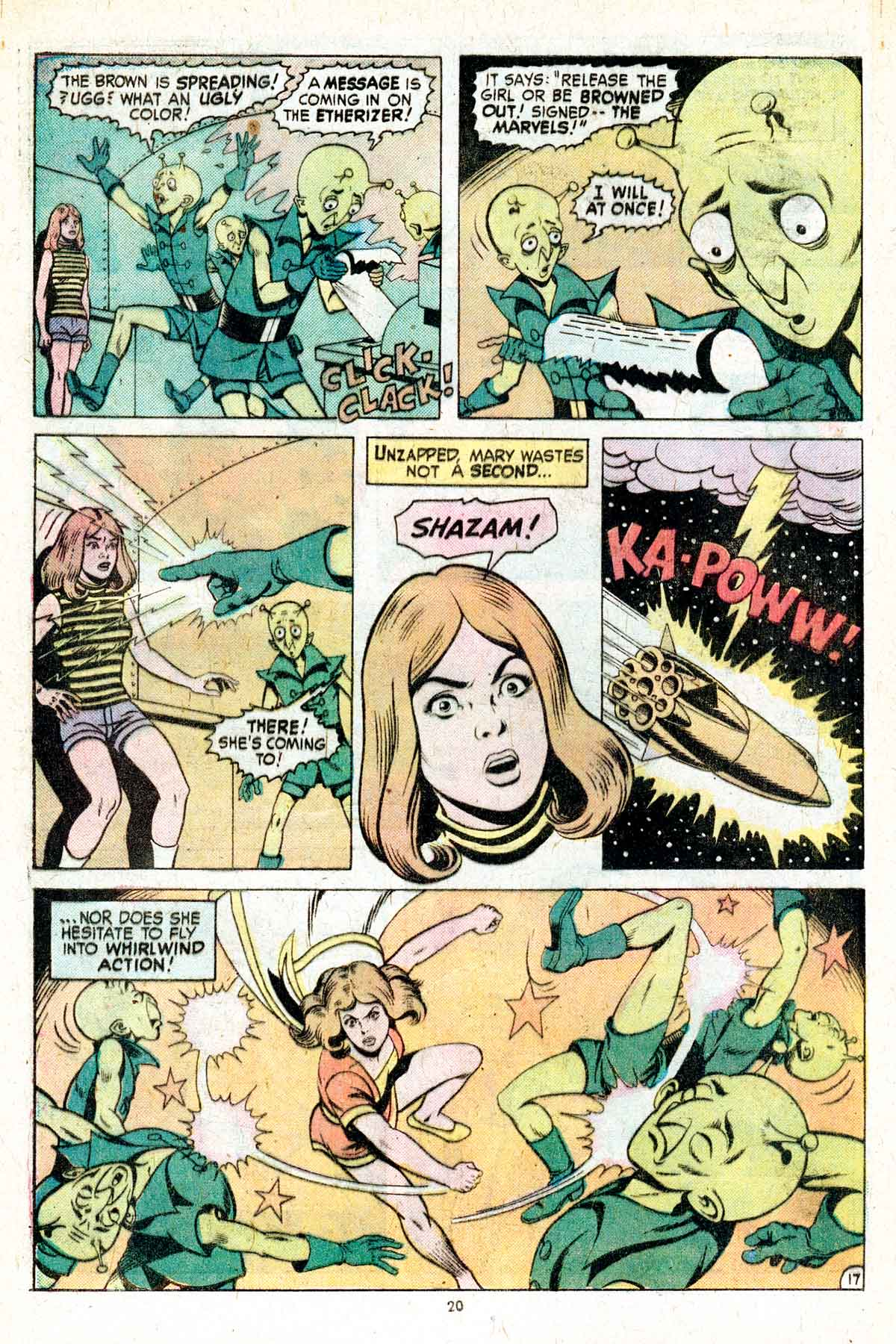 Read online Shazam! (1973) comic -  Issue #17 - 20