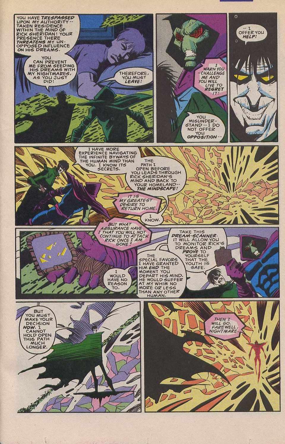 Read online Sleepwalker comic -  Issue #12 - 21