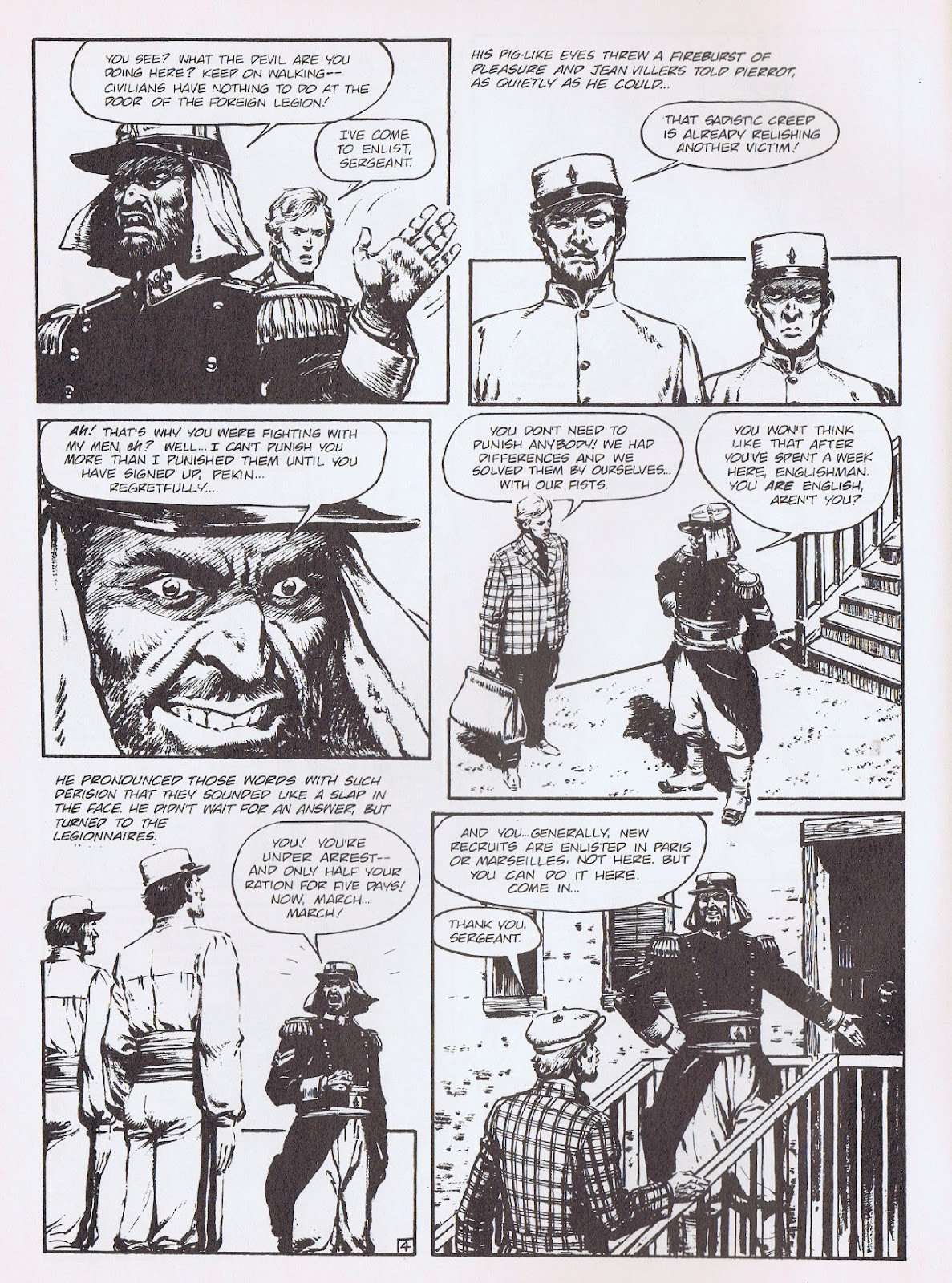Read online Merchants of Death comic -  Issue #3 - 6