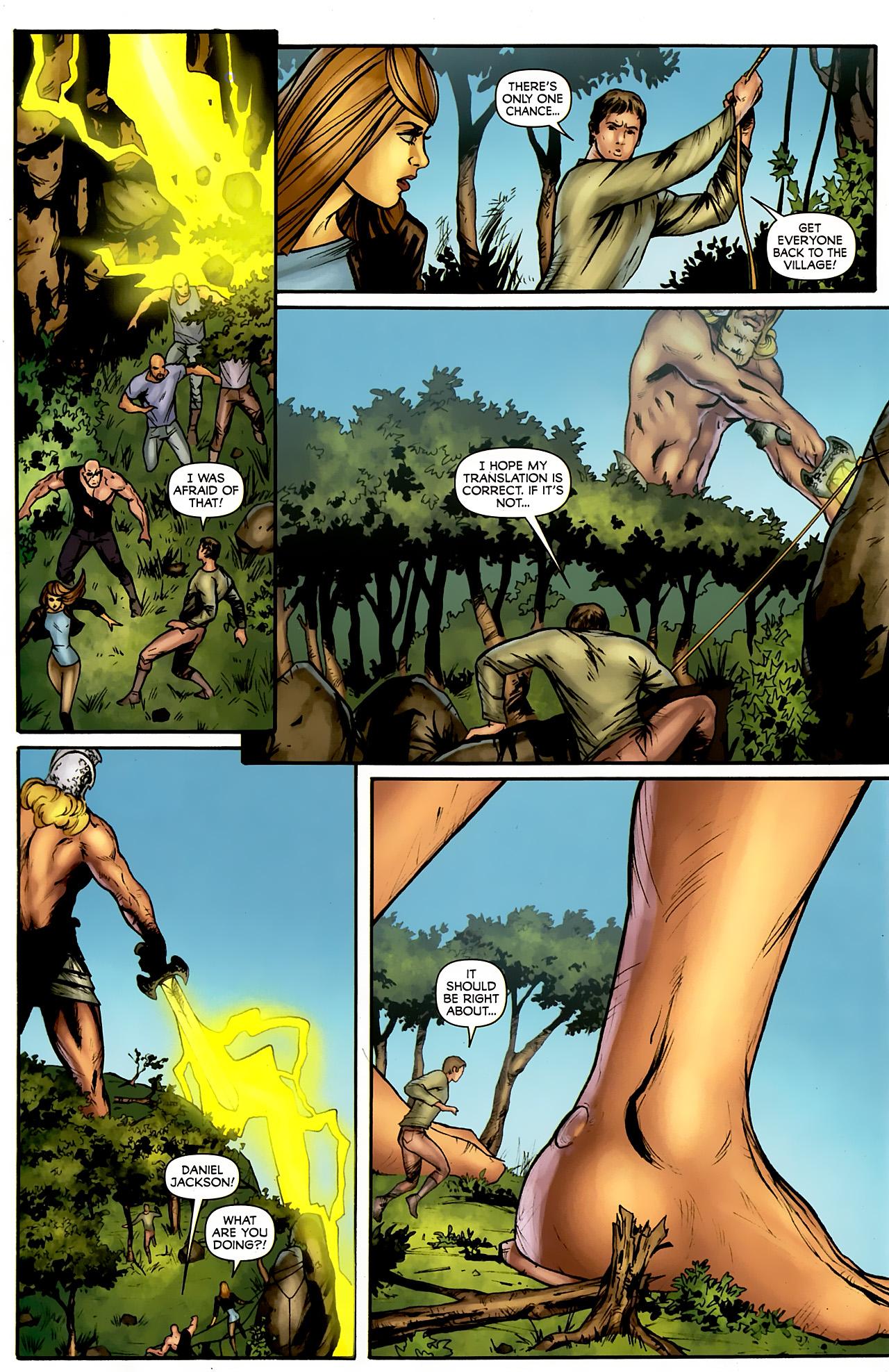 Read online Stargate: Daniel Jackson comic -  Issue #4 - 20