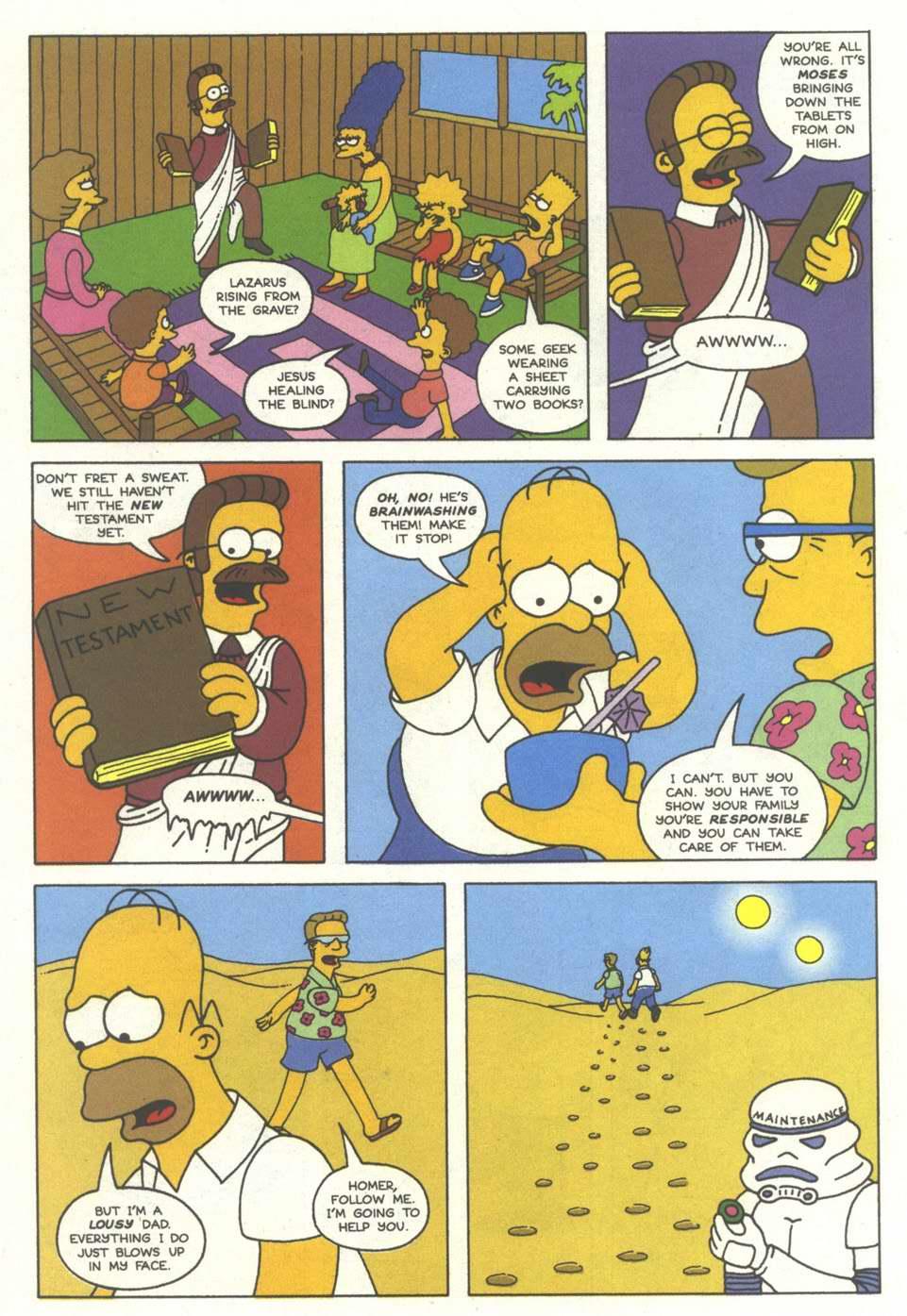 Read online Simpsons Comics comic -  Issue #12 - 17