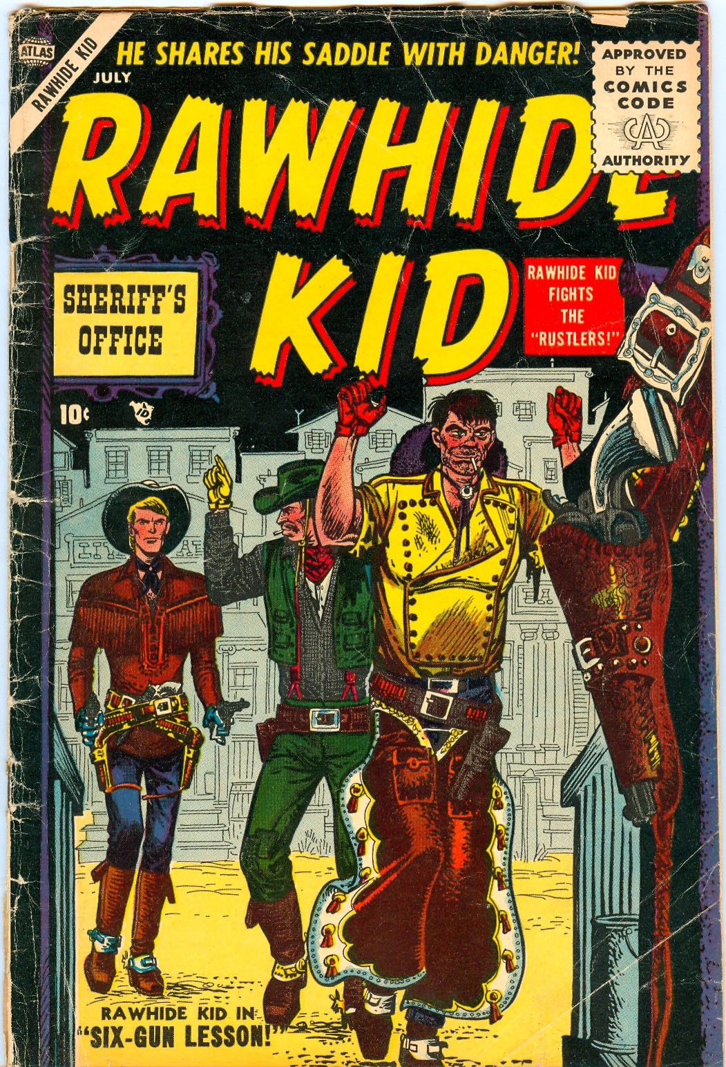 The Rawhide Kid (1955) issue 3 - Page 1