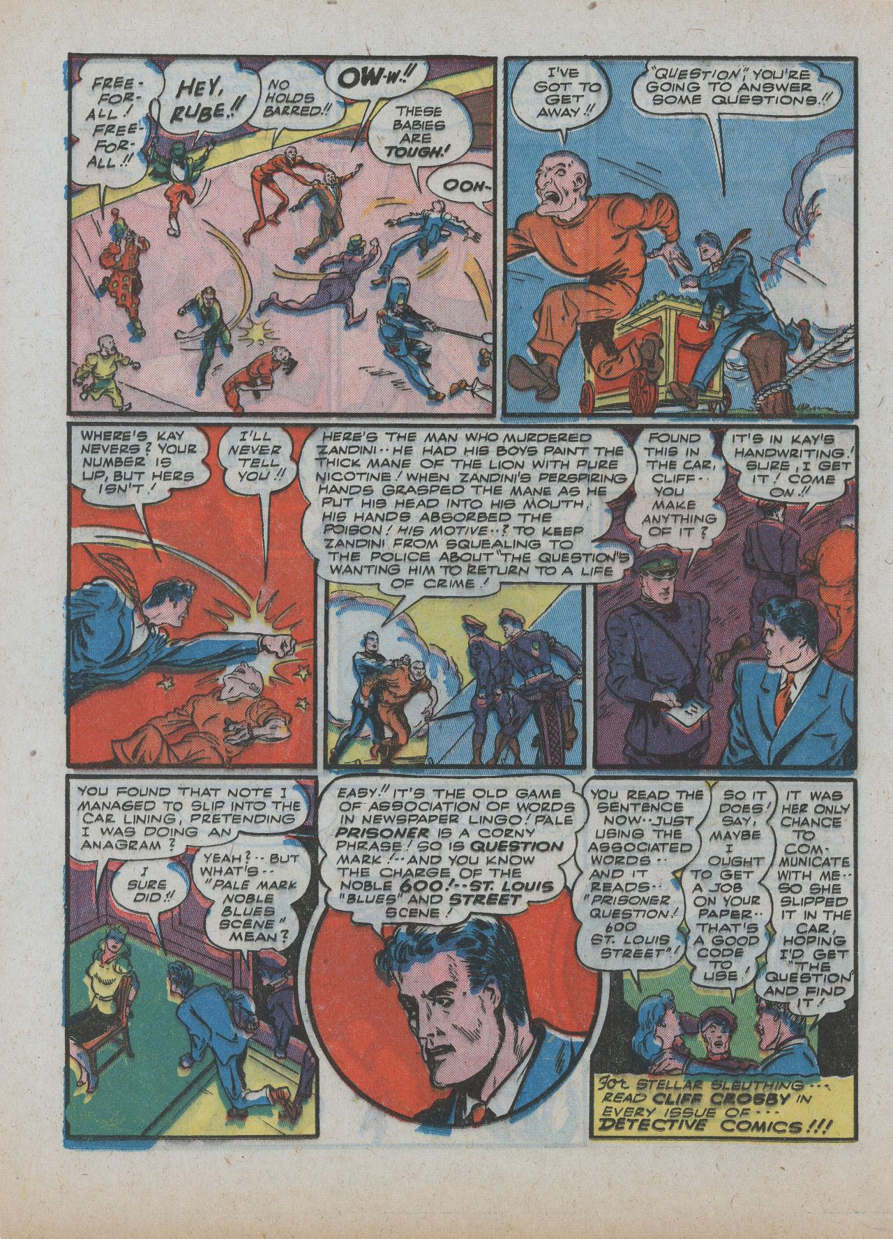 Read online Detective Comics (1937) comic -  Issue #63 - 28