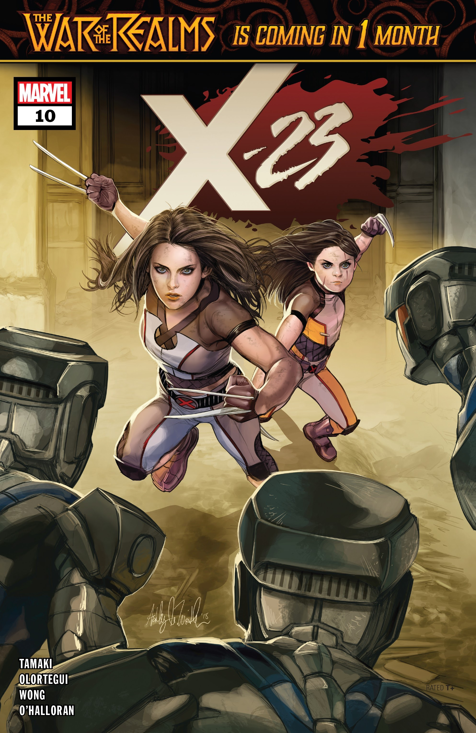 X-23 (2018) 10 Page 1