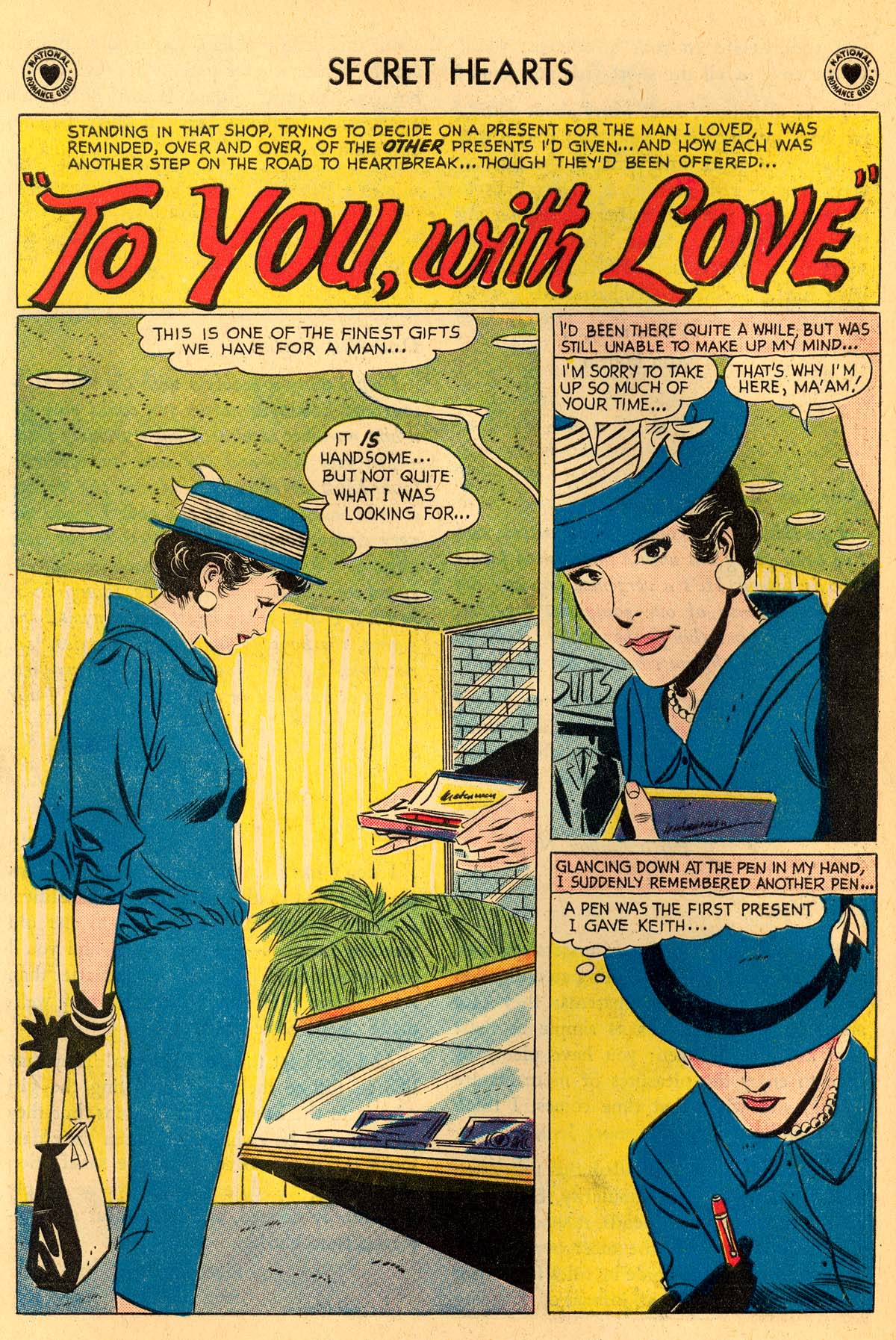 Read online Secret Hearts comic -  Issue #55 - 20