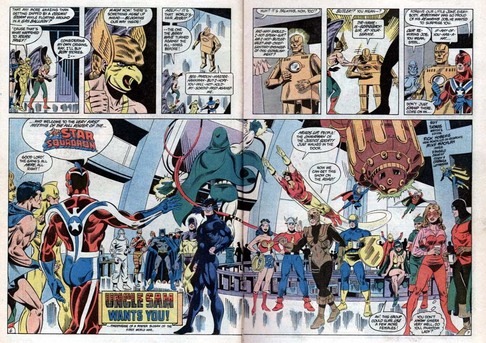 Read online All-Star Squadron comic -  Issue #31 - 8