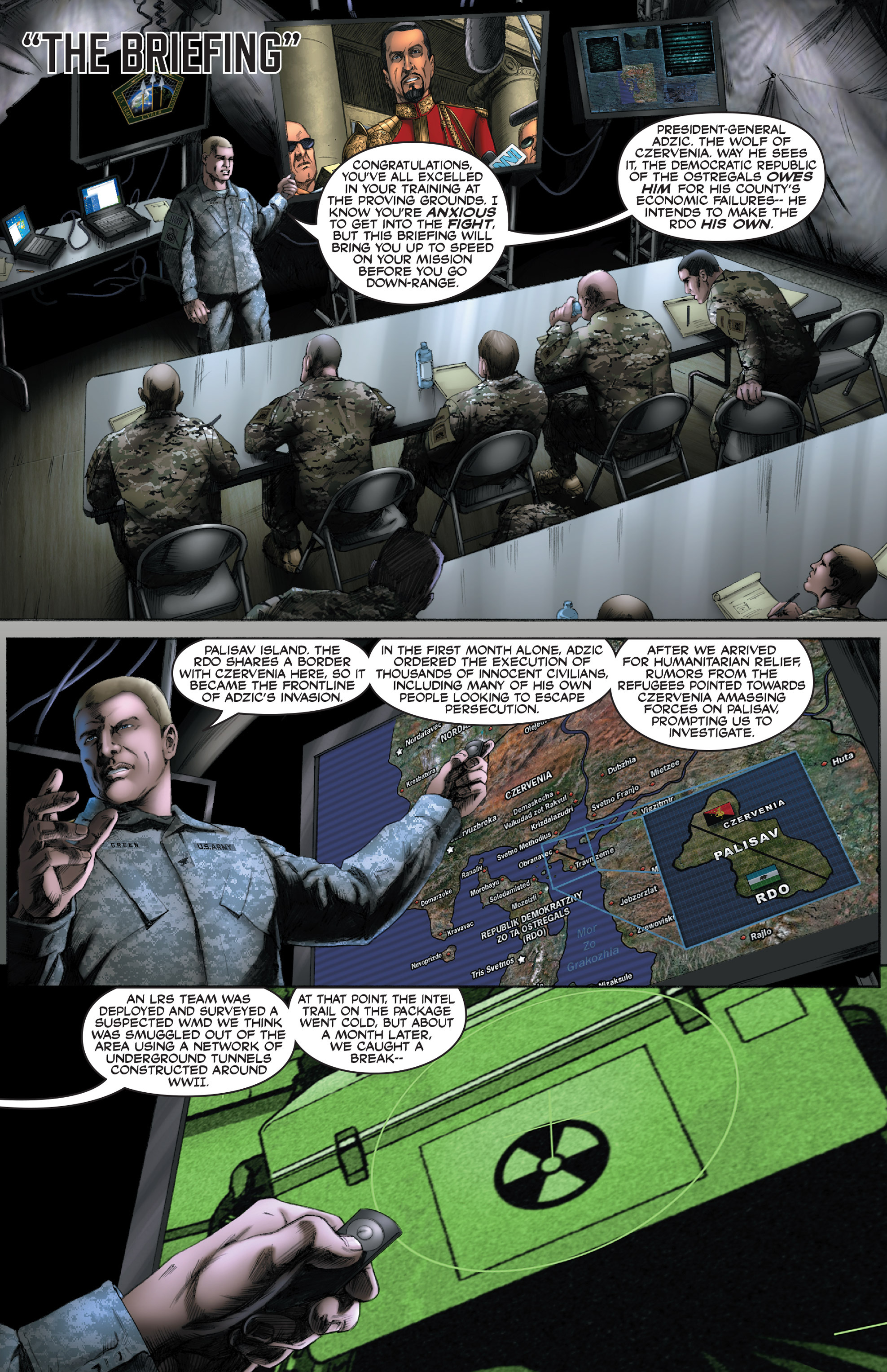 Read online America's Army comic -  Issue #0 - 6