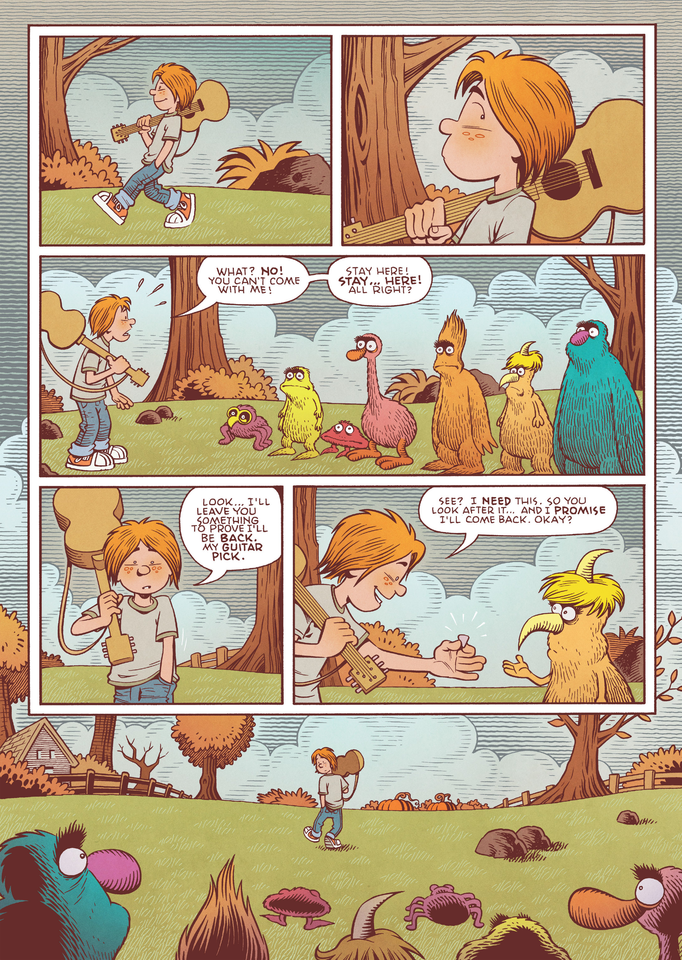 Read online Jim Henson's The Musical Monsters of Turkey Hollow comic -  Issue # Full - 38