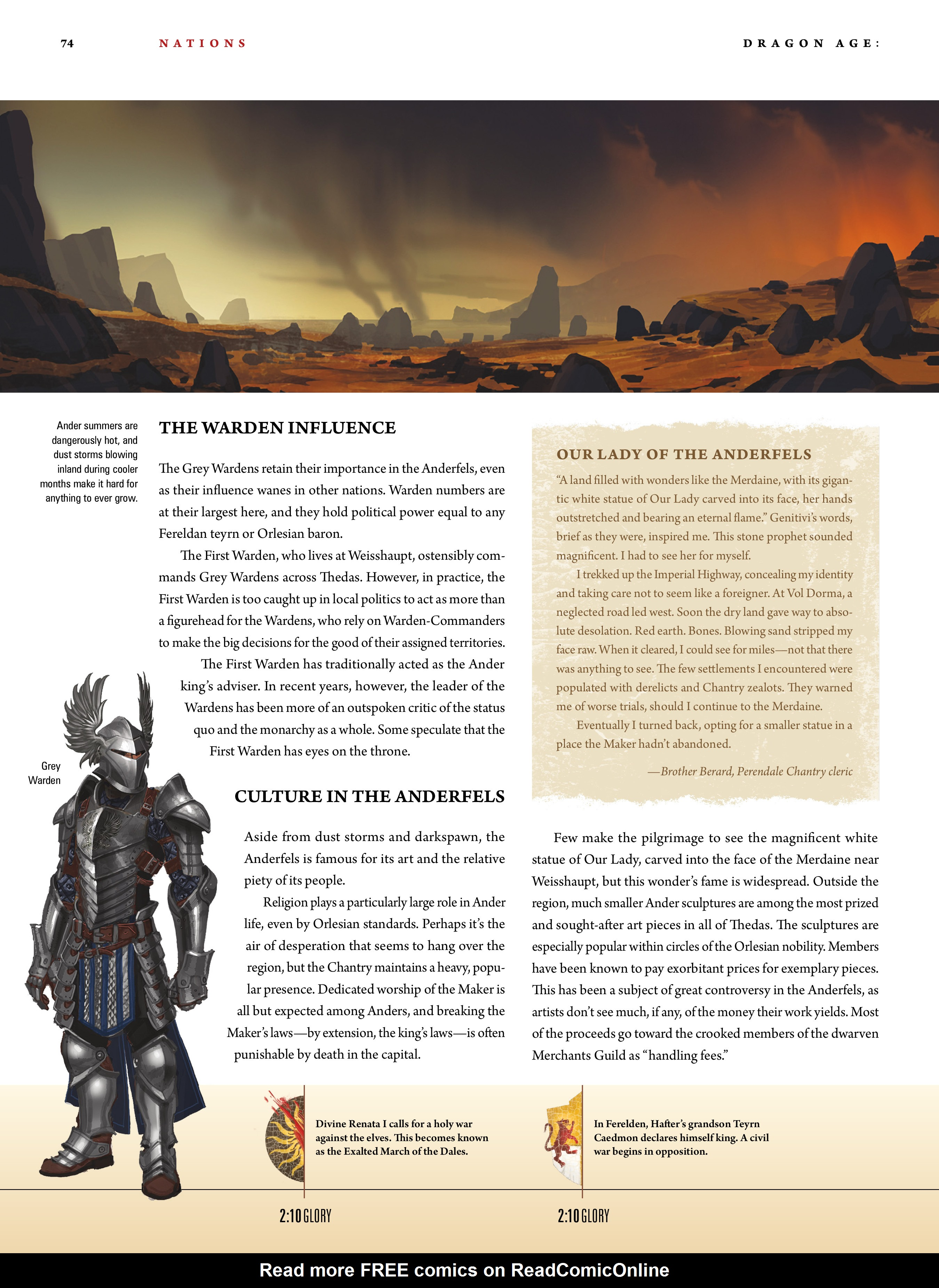 Read online Dragon Age: The World of Thedas comic -  Issue # TPB 1 - 60