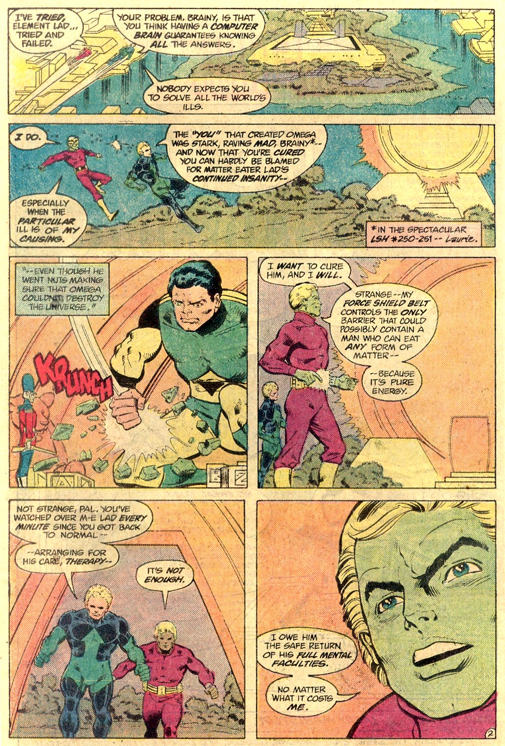 Legion of Super-Heroes (1980) 289 Page 19