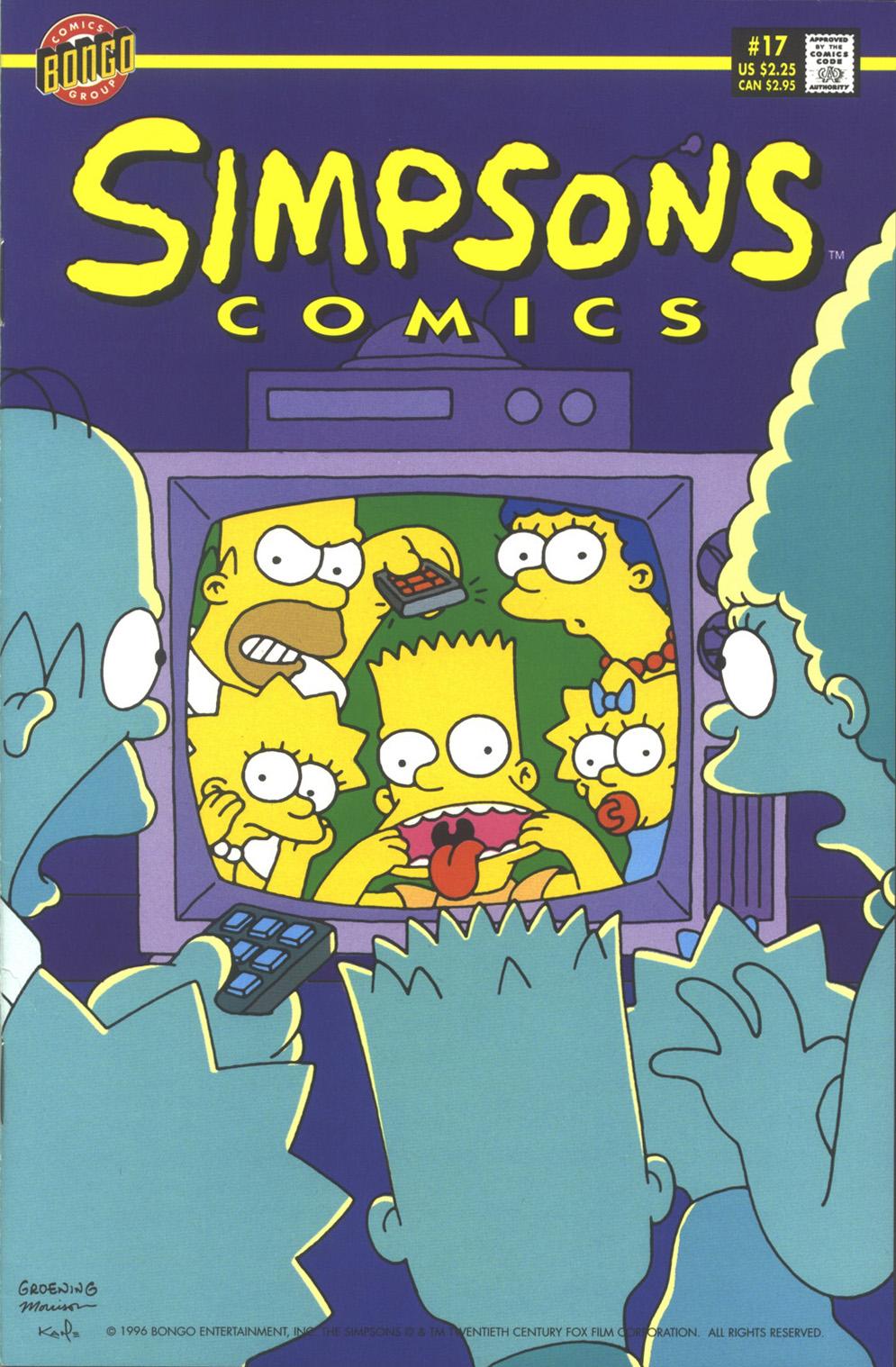 Read online Simpsons Comics comic -  Issue #17 - 1