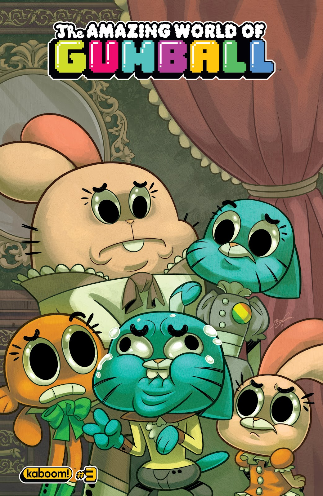 The Amazing World of Gumball issue 3 - Page 1