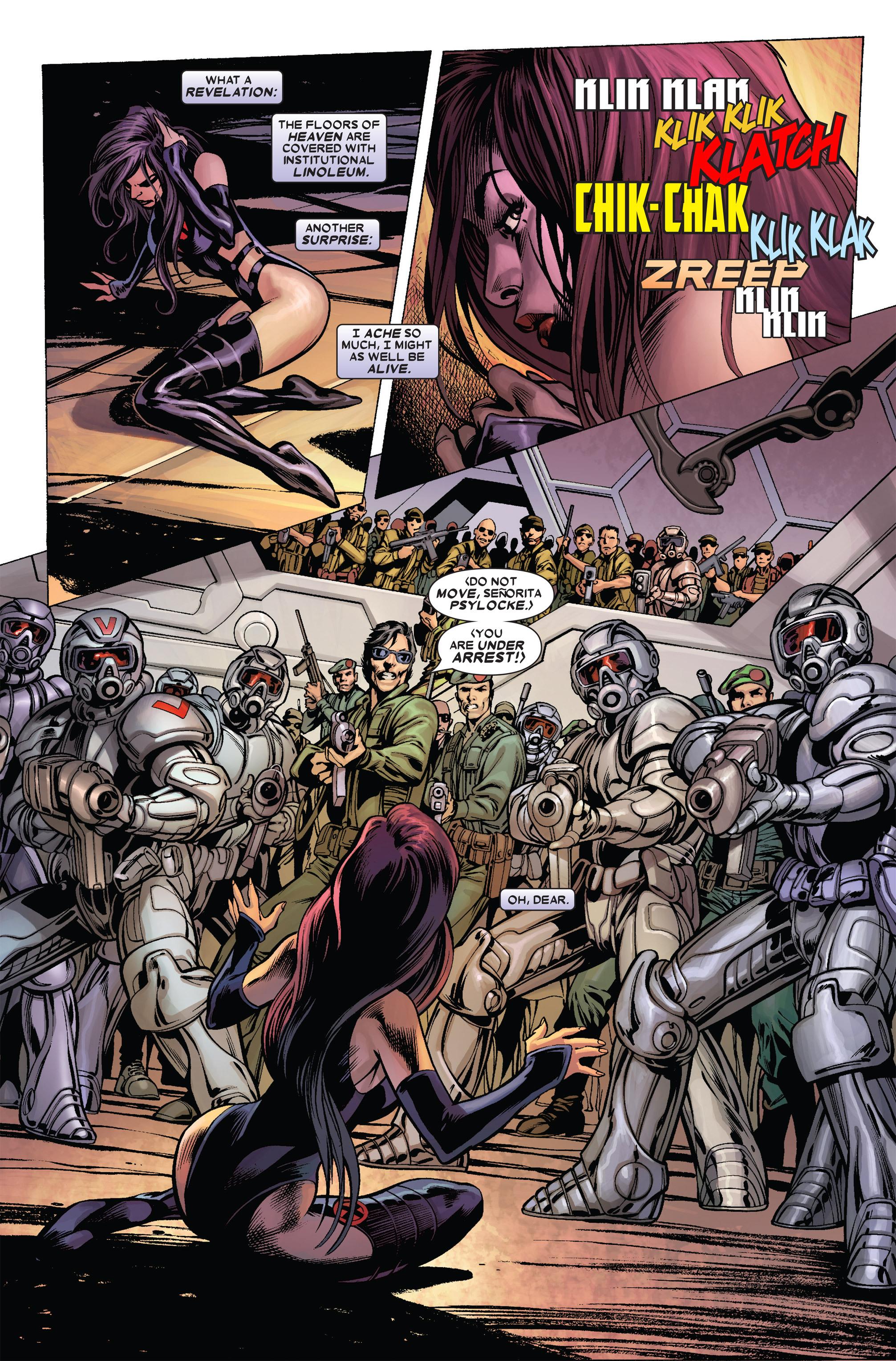 Read online Uncanny X-Men (1963) comic -  Issue #455 - 4