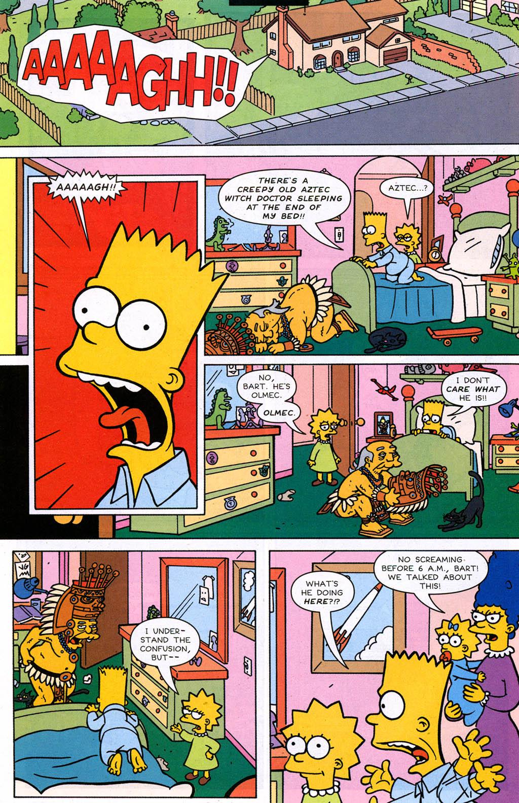 Read online Simpsons Comics comic -  Issue #98 - 7